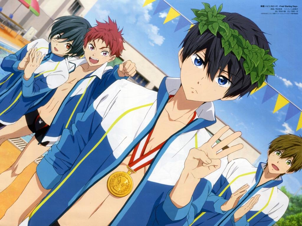 Free Free - iwatobi swim club high quality wallpaper ID:231967 for hd 1024x768 computer
