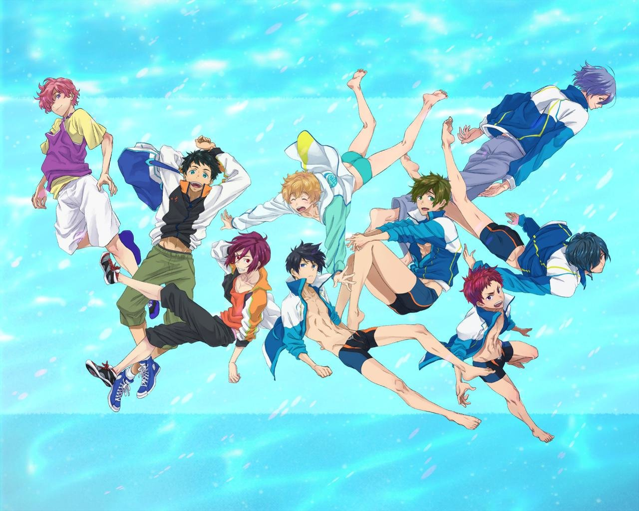 Best Free - iwatobi swim club wallpaper ID:231970 for High Resolution hd 1280x1024 PC