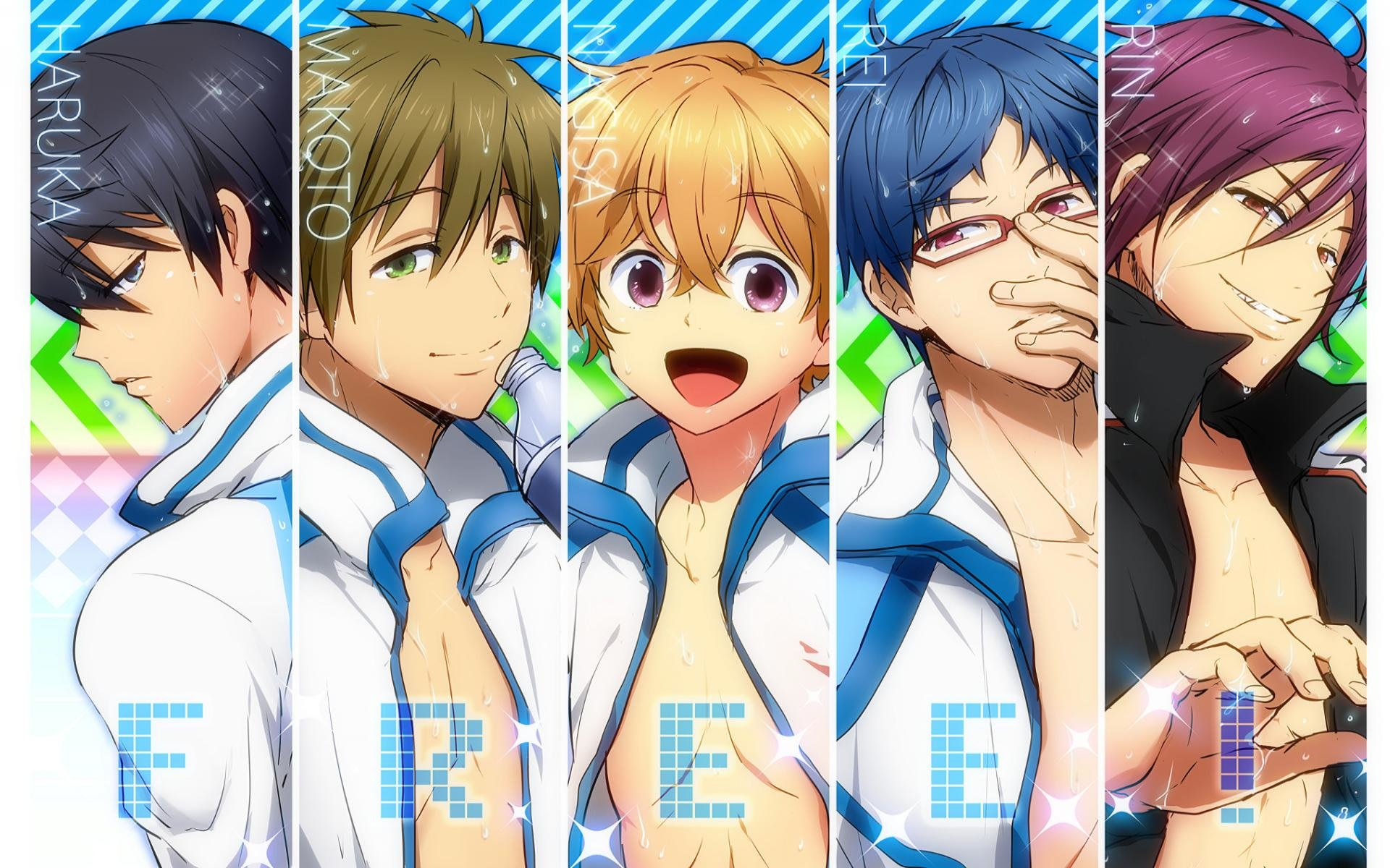 Awesome Free - iwatobi swim club free wallpaper ID:231974 for hd 1920x1200 computer