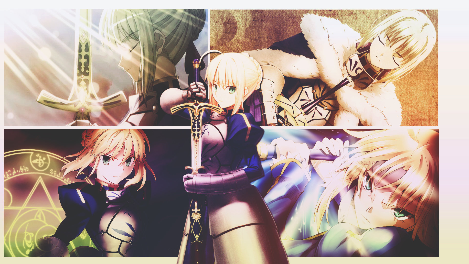Download full hd 1080p Saber (Fate Series) PC background ID:468510 for free