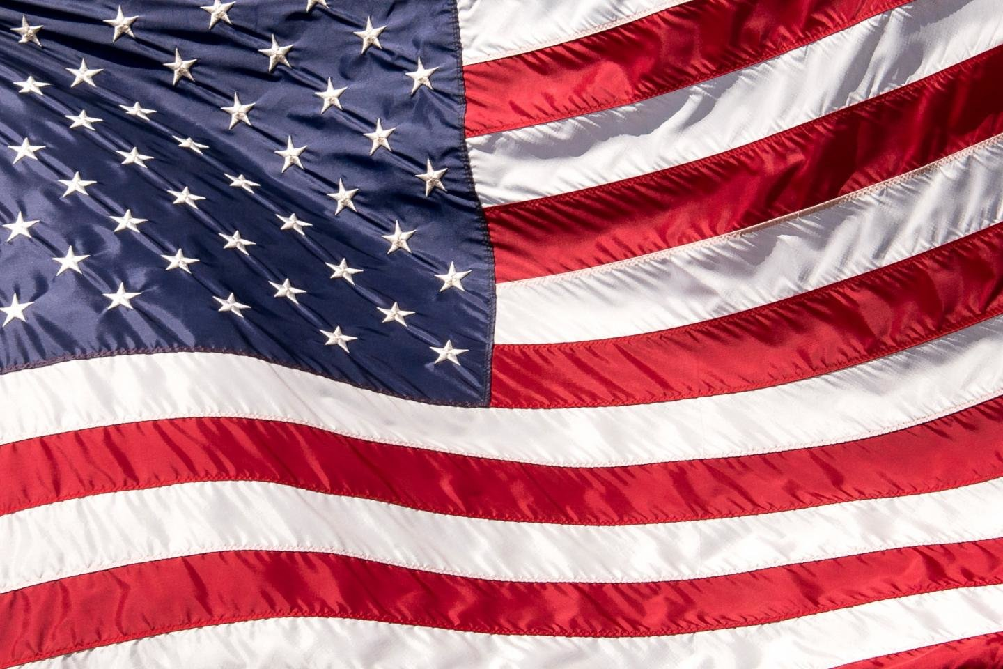 High resolution American Flag hd 1440x960 wallpaper ID:479680 for computer