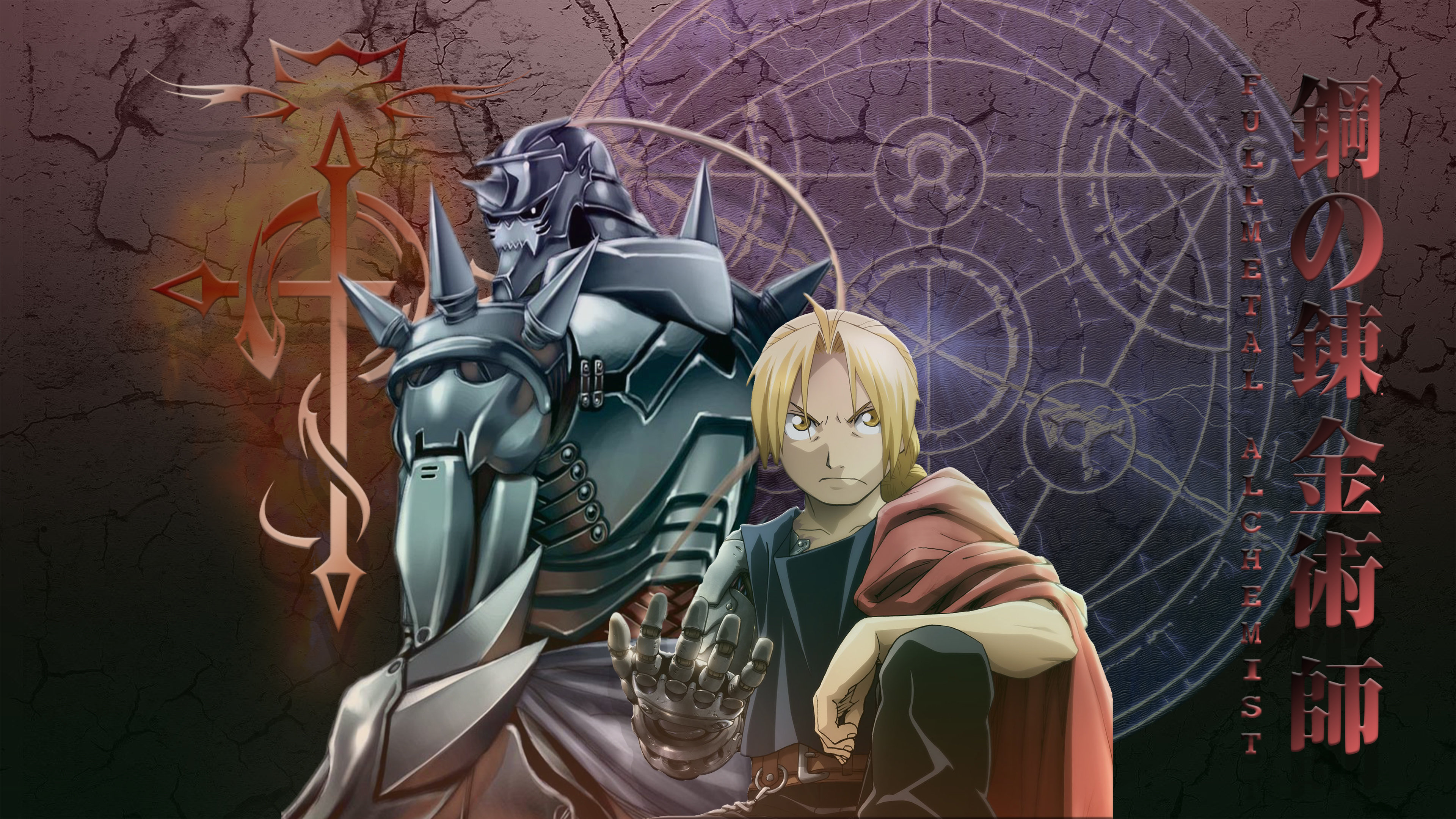 Download 4k FullMetal Alchemist (FMA) desktop wallpaper ID:310727 for free