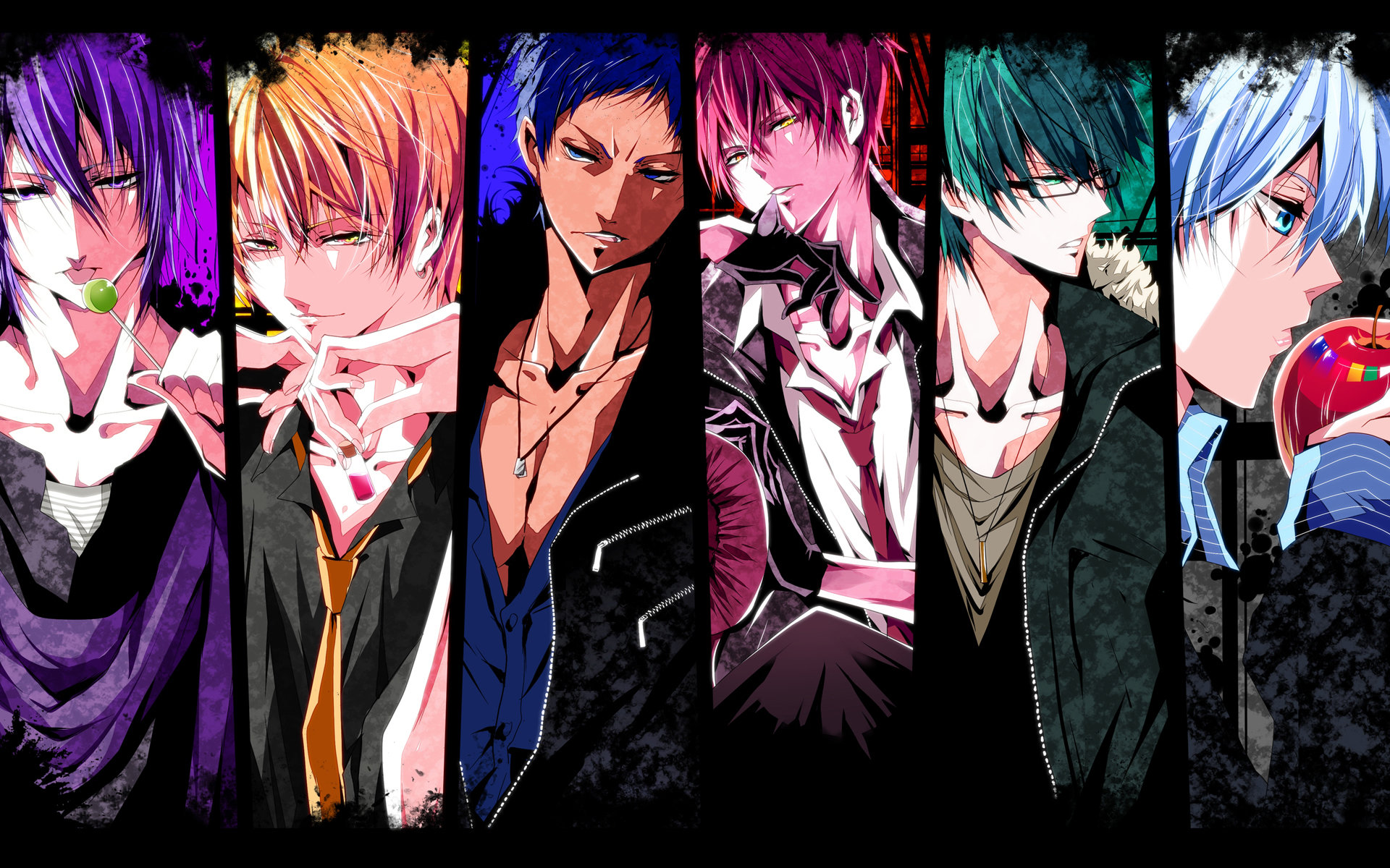 Free download Kuroko's Basketball background ID:318861 hd 1920x1200 for PC
