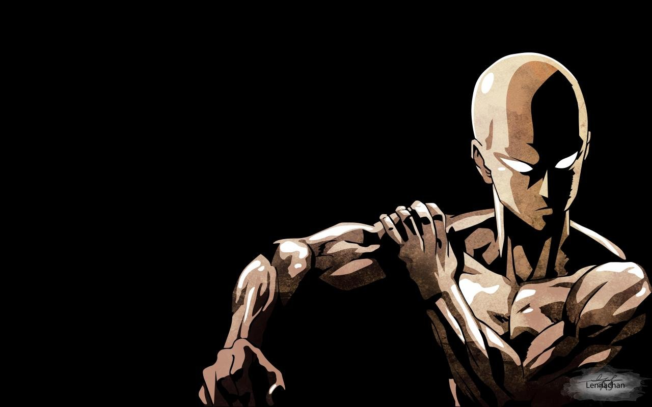 High resolution Saitama (One-Punch Man) hd 1280x800 background ID:345309 for computer