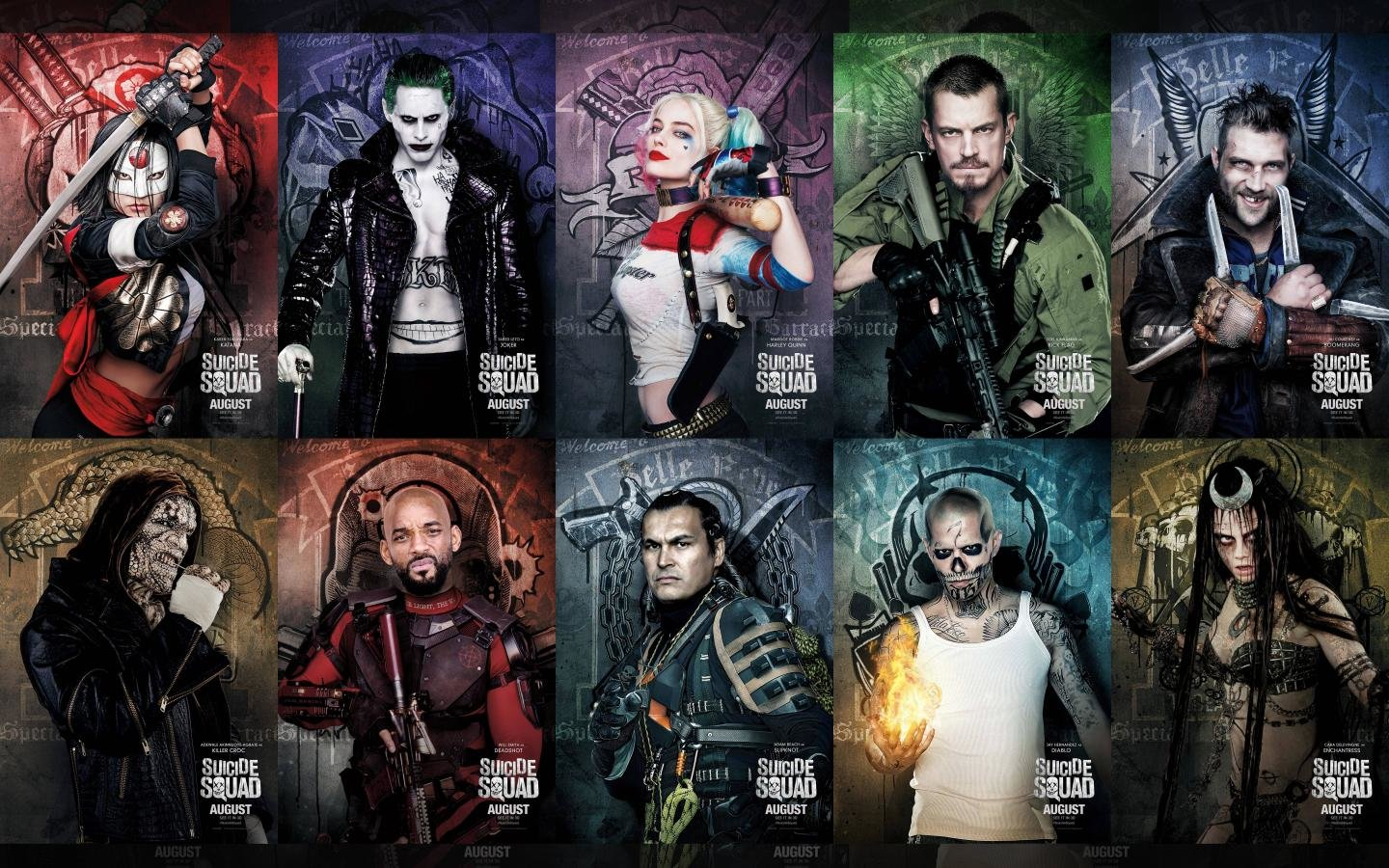 Awesome Suicide Squad Free Wallpaper Id 236749 For Hd 1440x900 Desktop