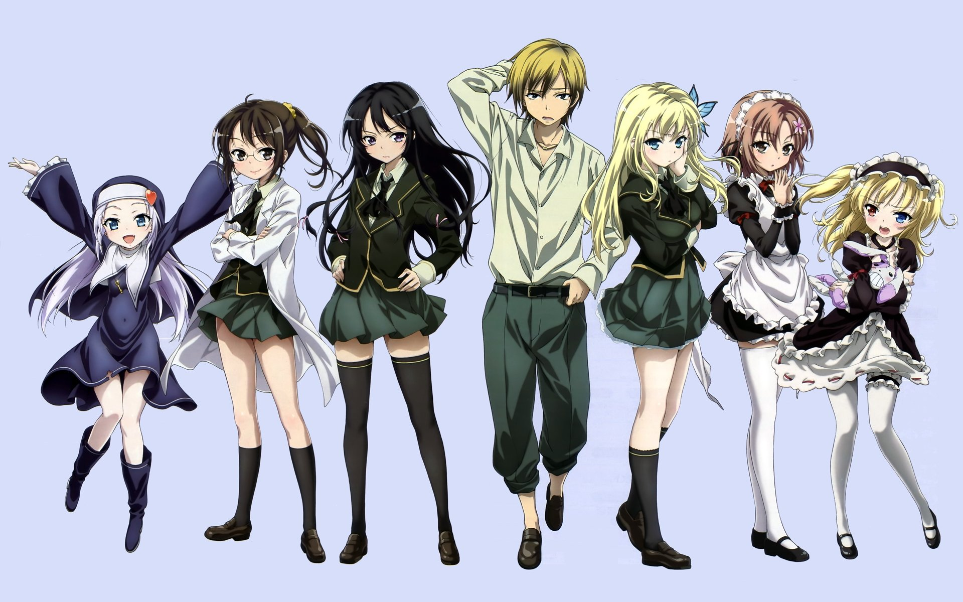 Best Boku Wa Tomodachi Ga Sukunai wallpaper ID:155141 for High Resolution hd 1920x1200 desktop