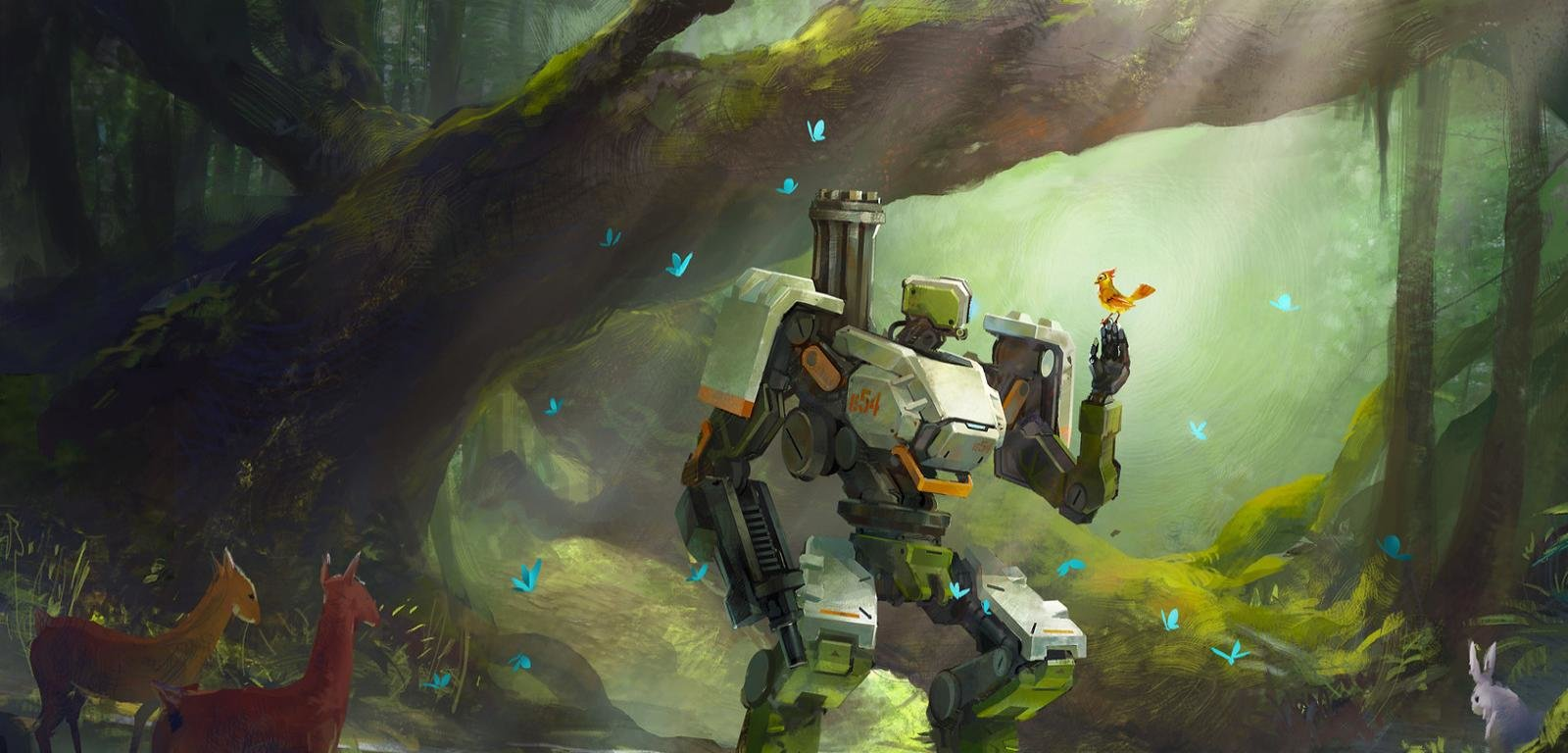 Bastion overwatch wallpapers hd for desktop backgrounds - Bastion wallpaper ...