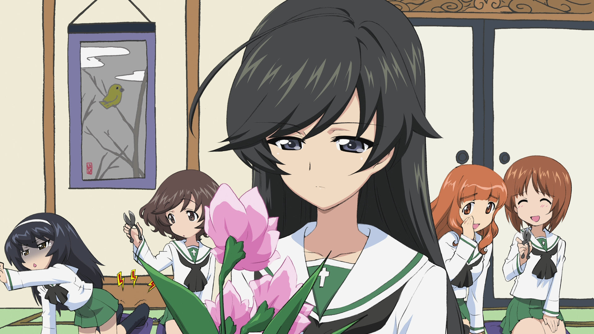 Free Girls Und Panzer high quality background ID:208396 for full hd computer