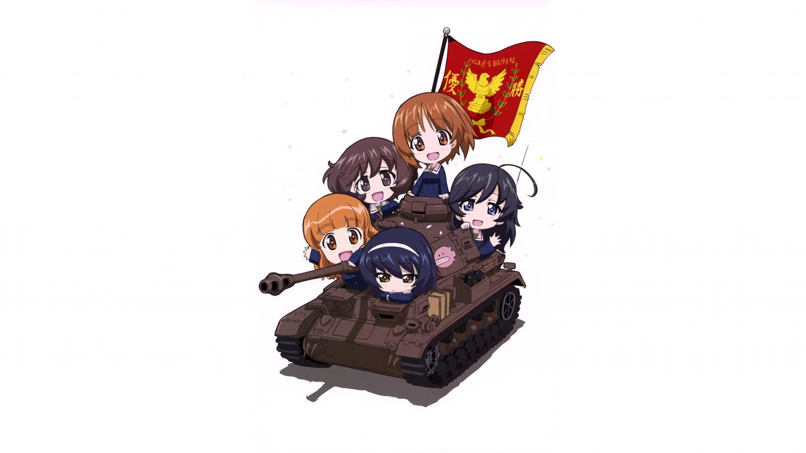 Free download Girls Und Panzer wallpaper ID:208458 hd 1600x900 for PC