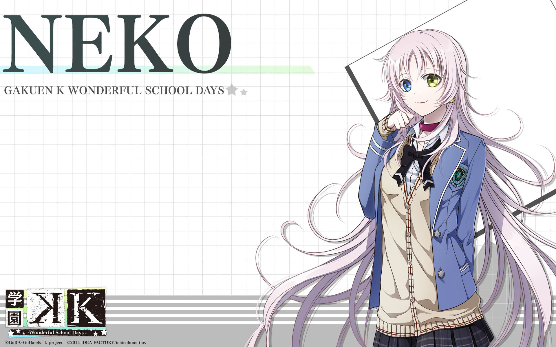 Free download Neko (K Project) background ID:315736 hd 1920x1200 for desktop