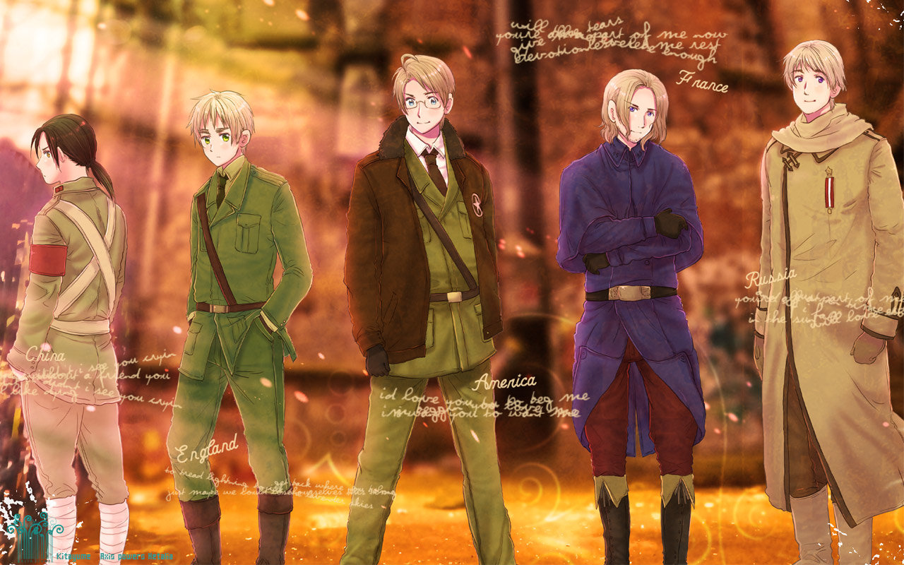 High resolution Hetalia: Axis Powers hd 1280x800 background ID:89182 for desktop