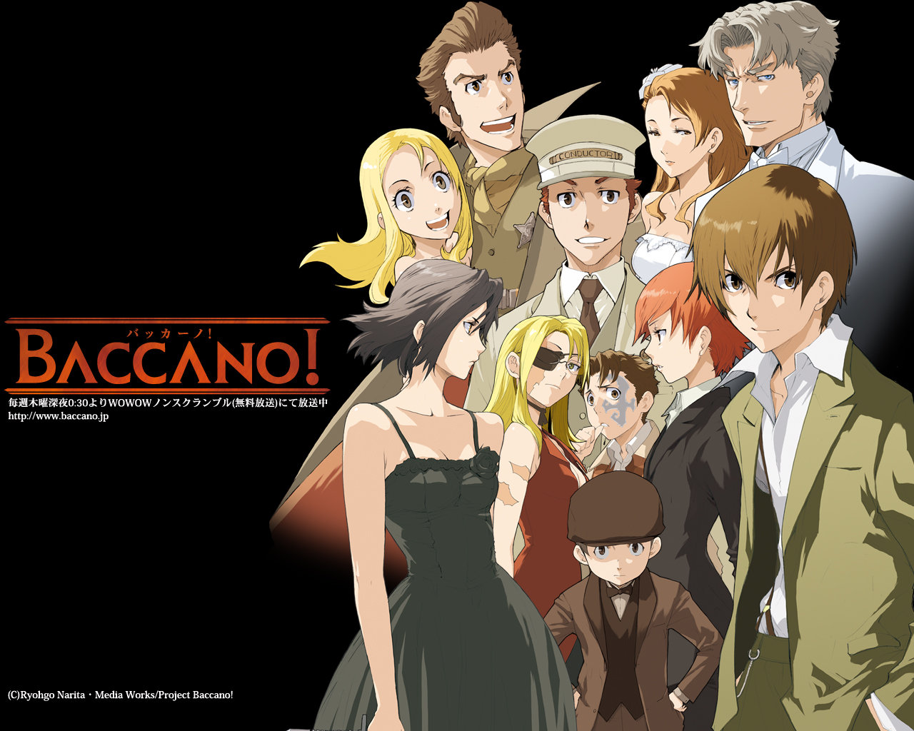 Download hd 1280x1024 Baccano! PC wallpaper ID:324367 for free