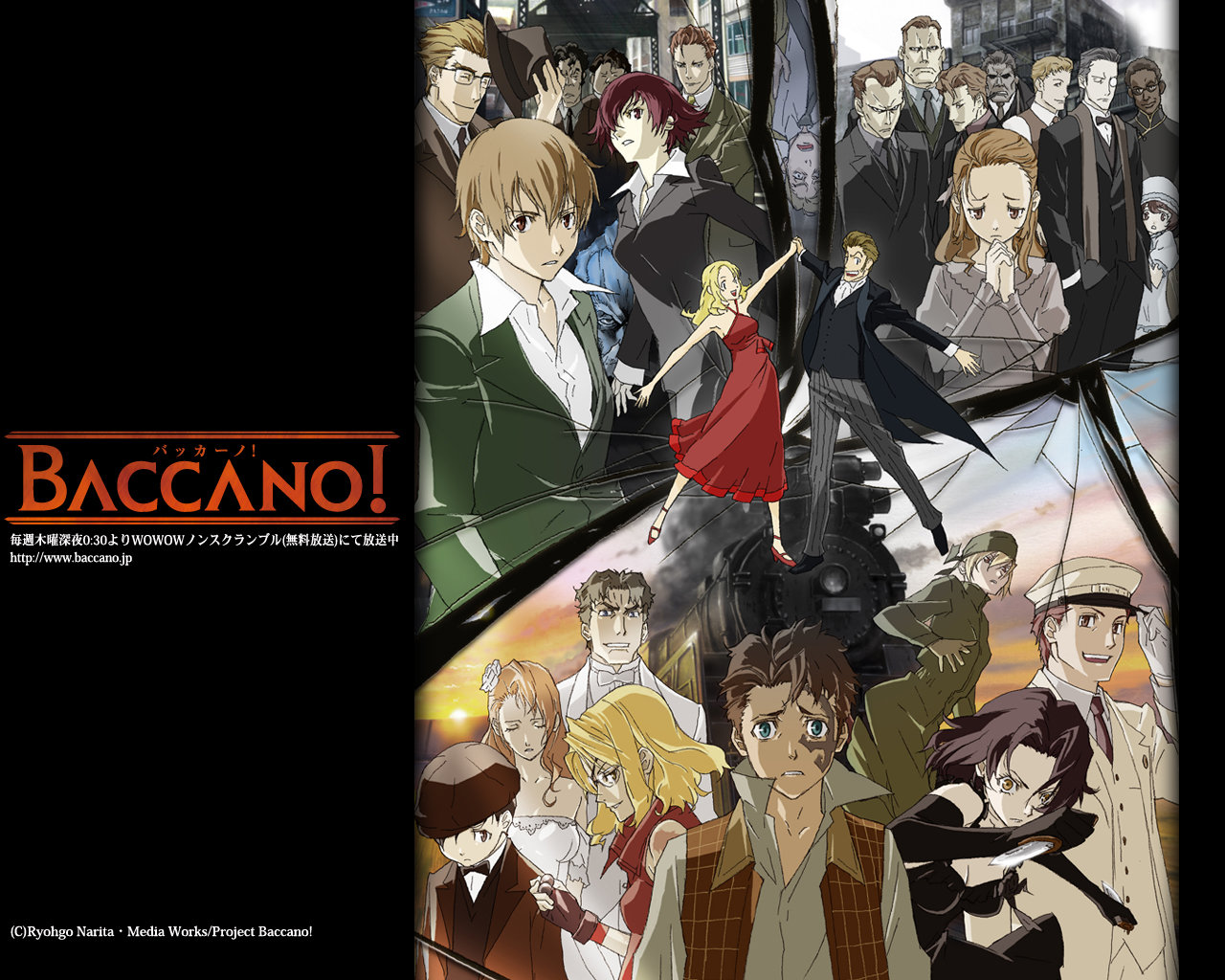 Best Baccano! wallpaper ID:324380 for High Resolution hd 1280x1024 computer