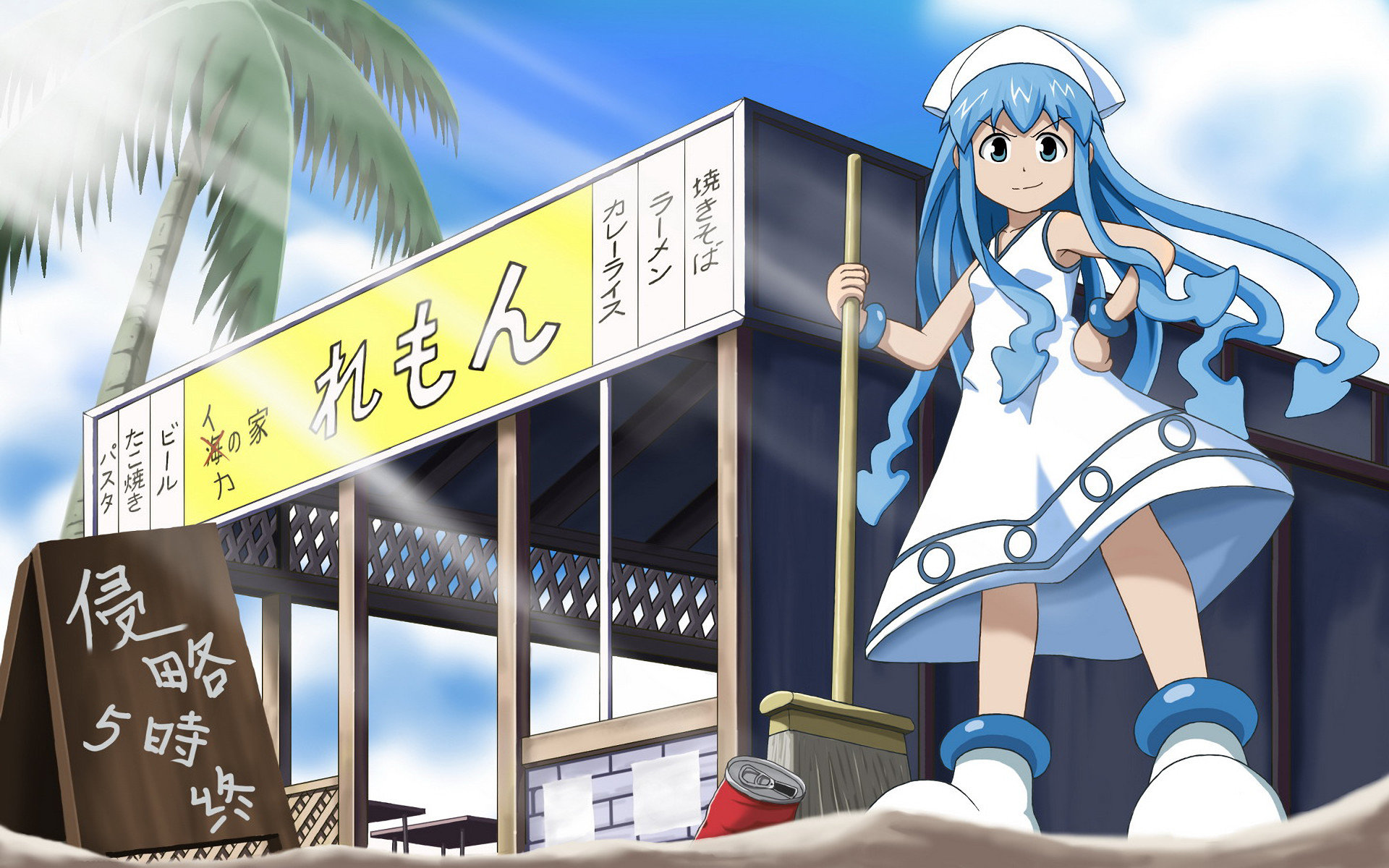 Free Ika Musume high quality wallpaper ID:103195 for hd 1920x1200 PC