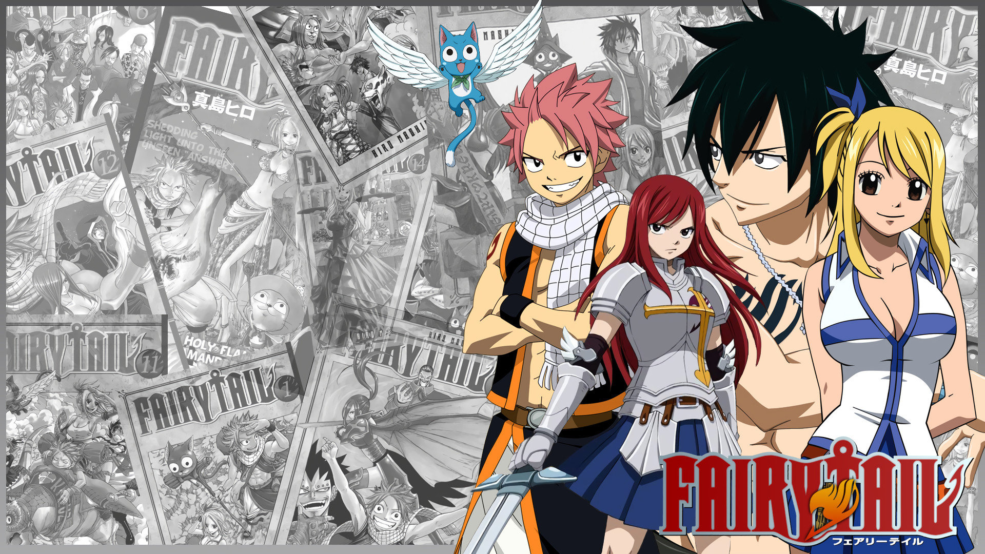 Free download Fairy Tail background ID:41432 hd 1920x1080 for computer