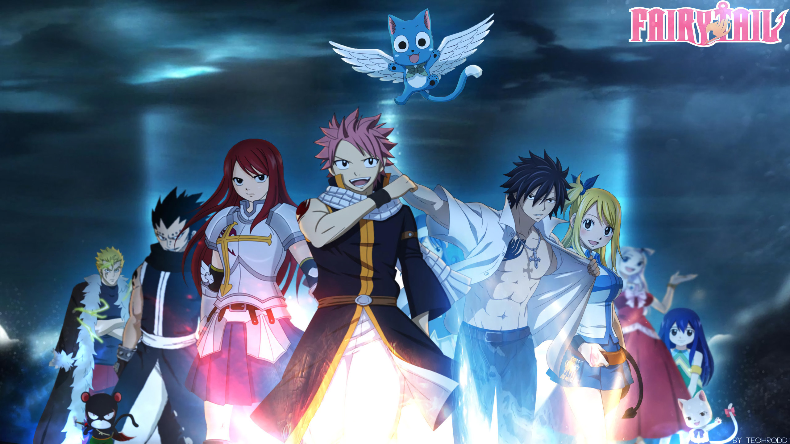 Awesome Fairy Tail free background ID:41192 for hd 2560x1440 desktop