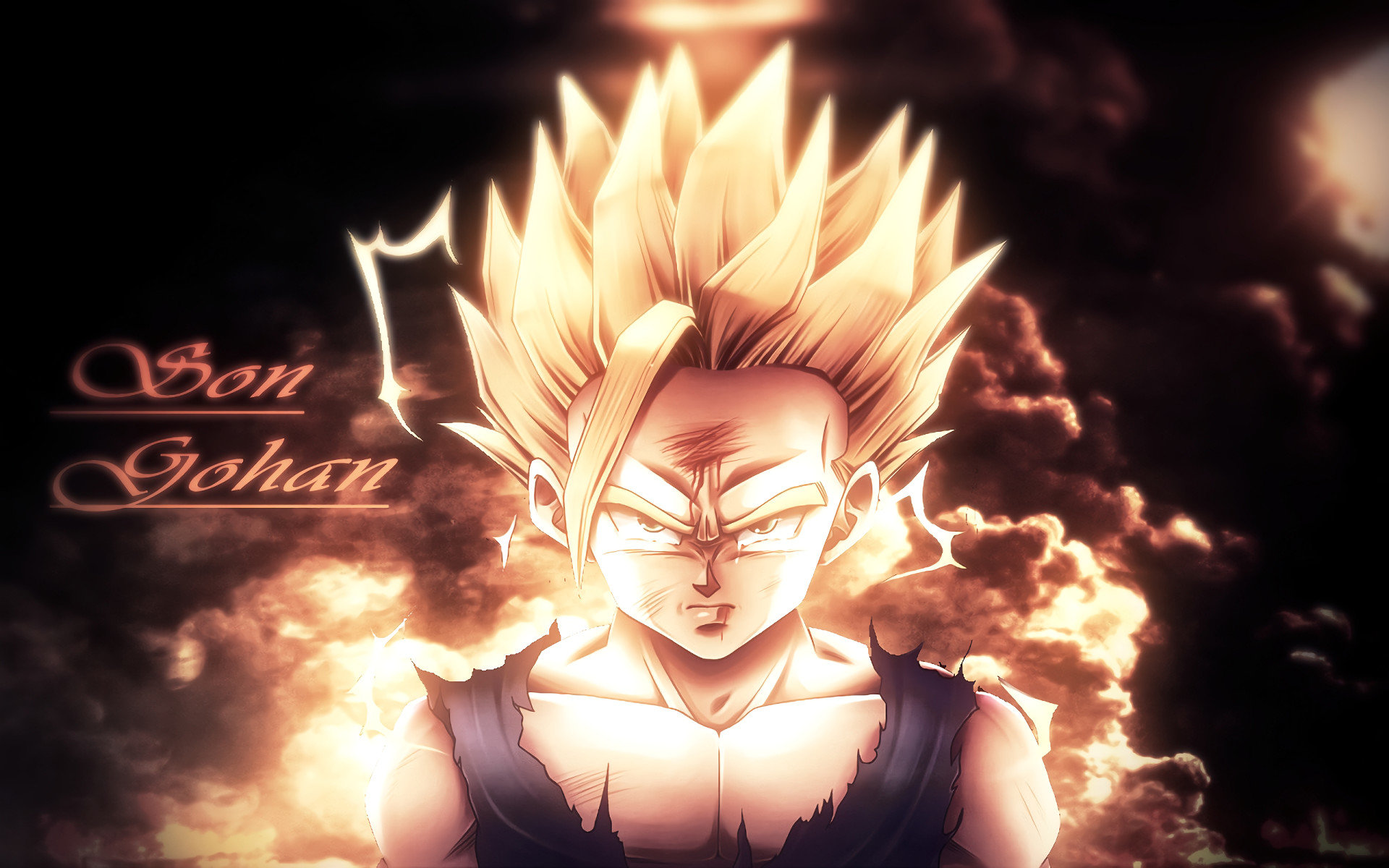 Awesome Gohan (Dragon Ball) free background ID:462144 for hd 1920x1200 computer