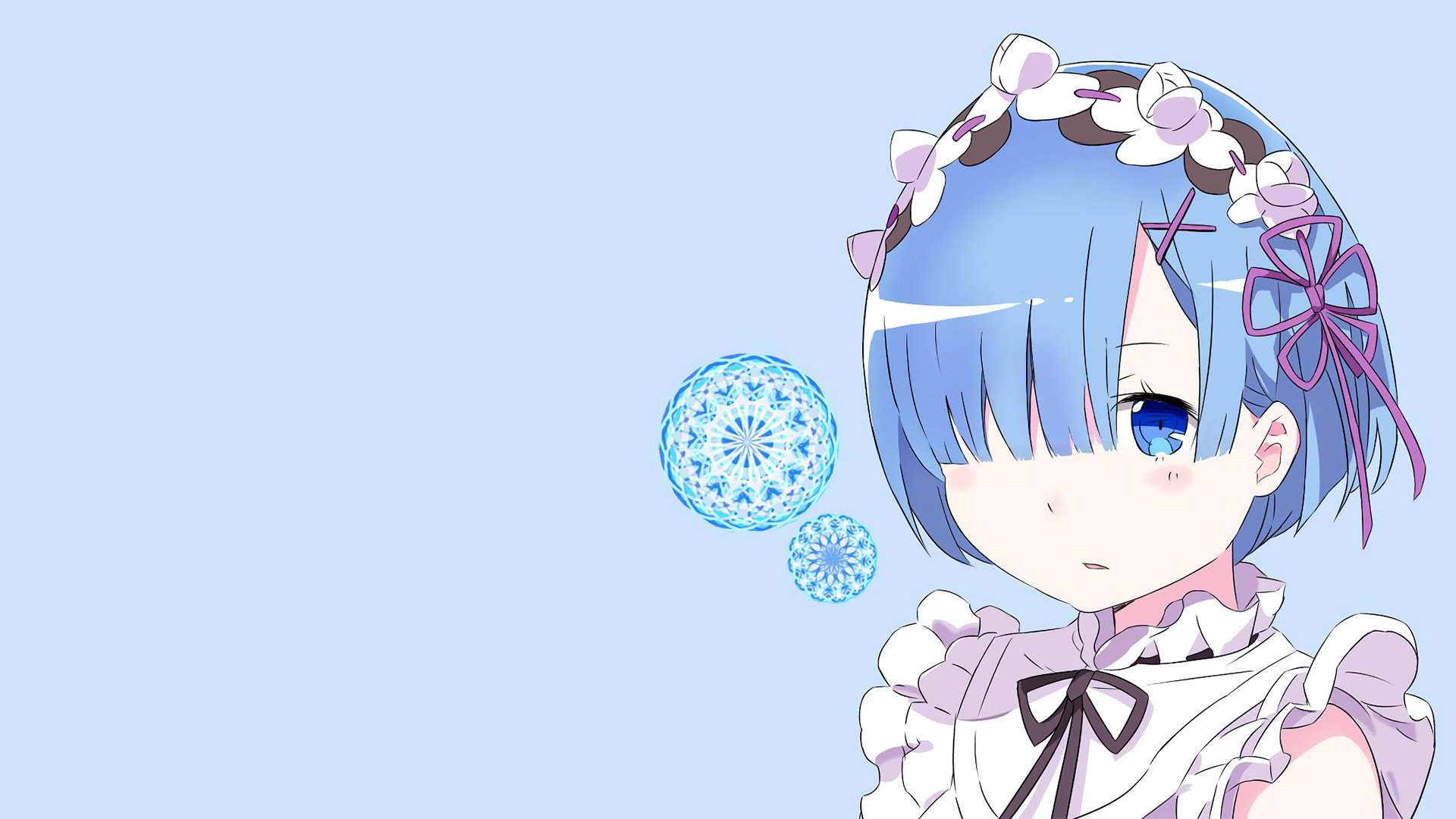 Awesome Rem (Re:ZERO) free background ID:159062 for 1080p desktop