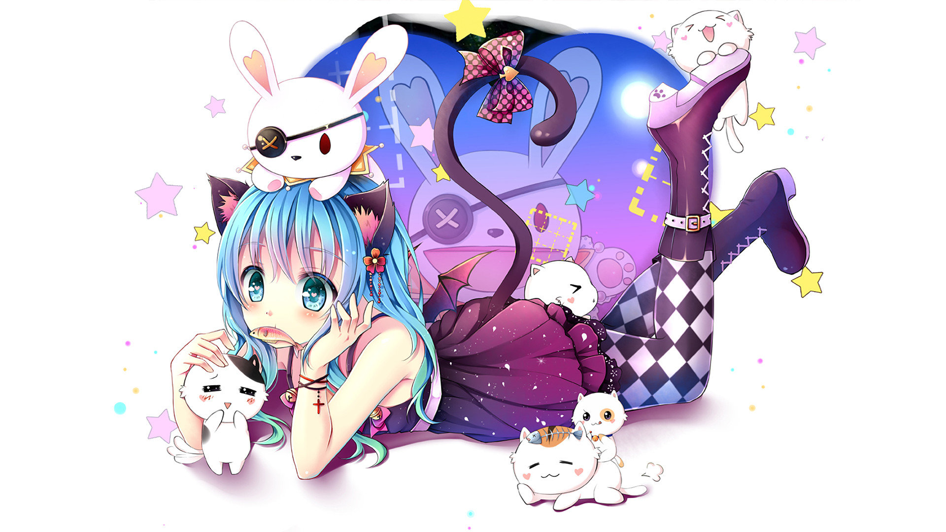 Best Yoshino (Date A Live) background ID:463744 for High Resolution full hd PC