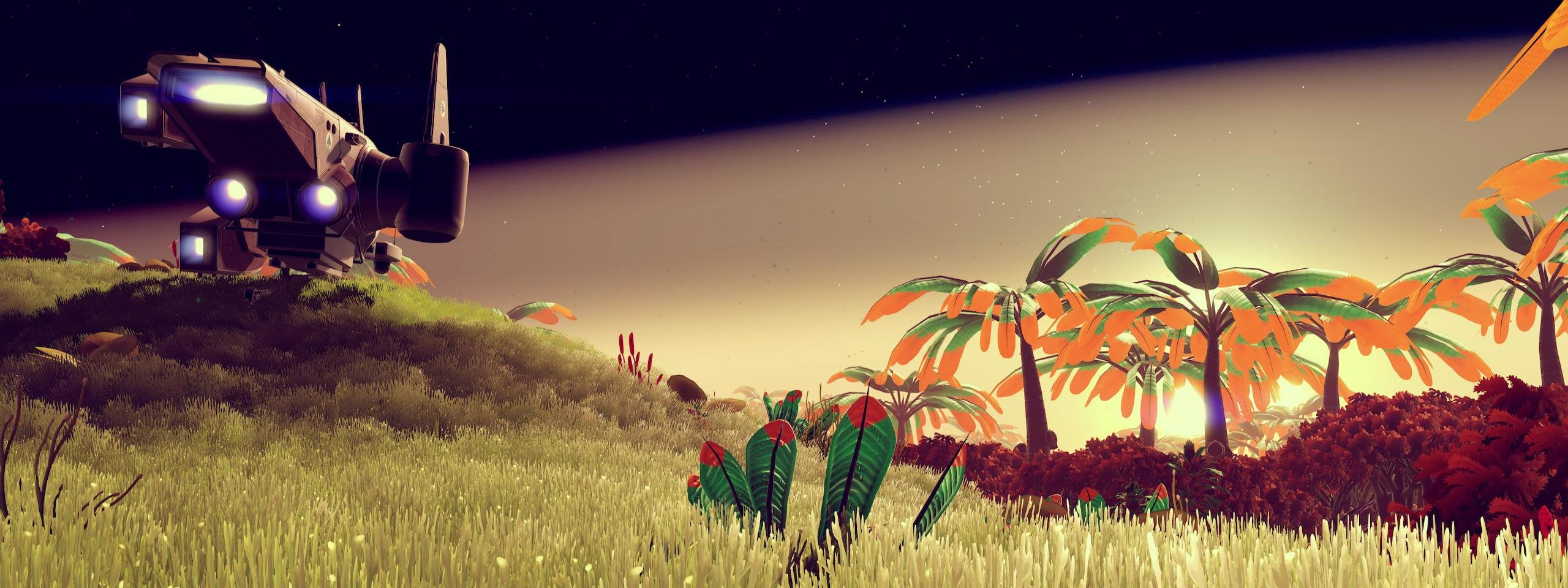 Free download No Man's Sky wallpaper ID:110458 dual monitor 2560x960 for PC