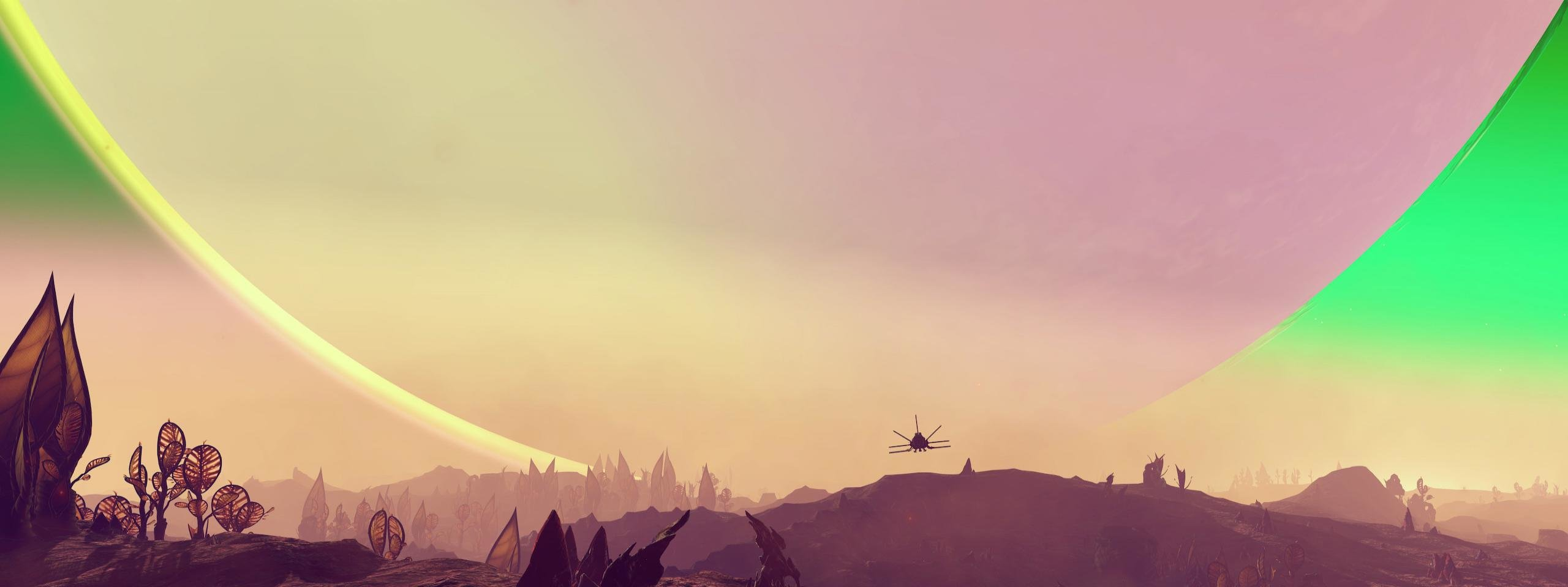 Awesome No Man's Sky free wallpaper ID:110455 for dual screen 2560x960 desktop