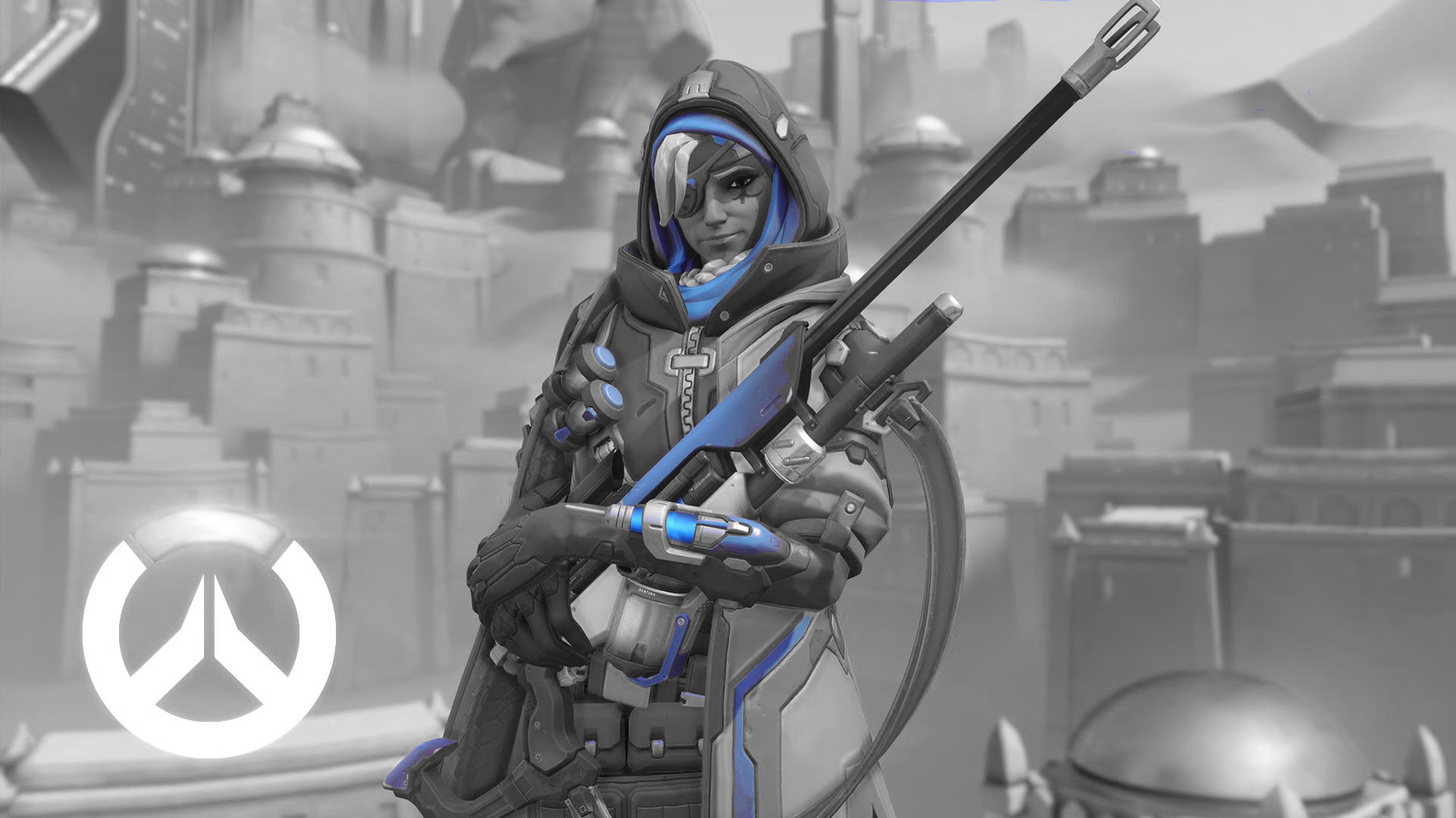 Download 1080p Ana Overwatch Pc Wallpaper Id170343 For Free