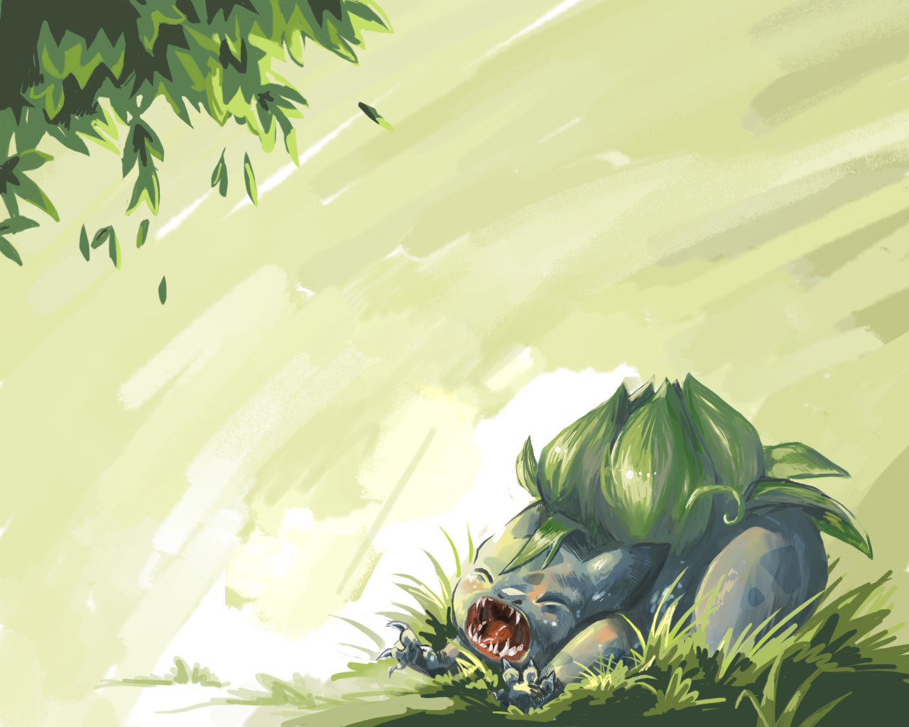 Awesome Bulbasaur (Pokemon) free background ID:280343 for hd 1280x1024 PC