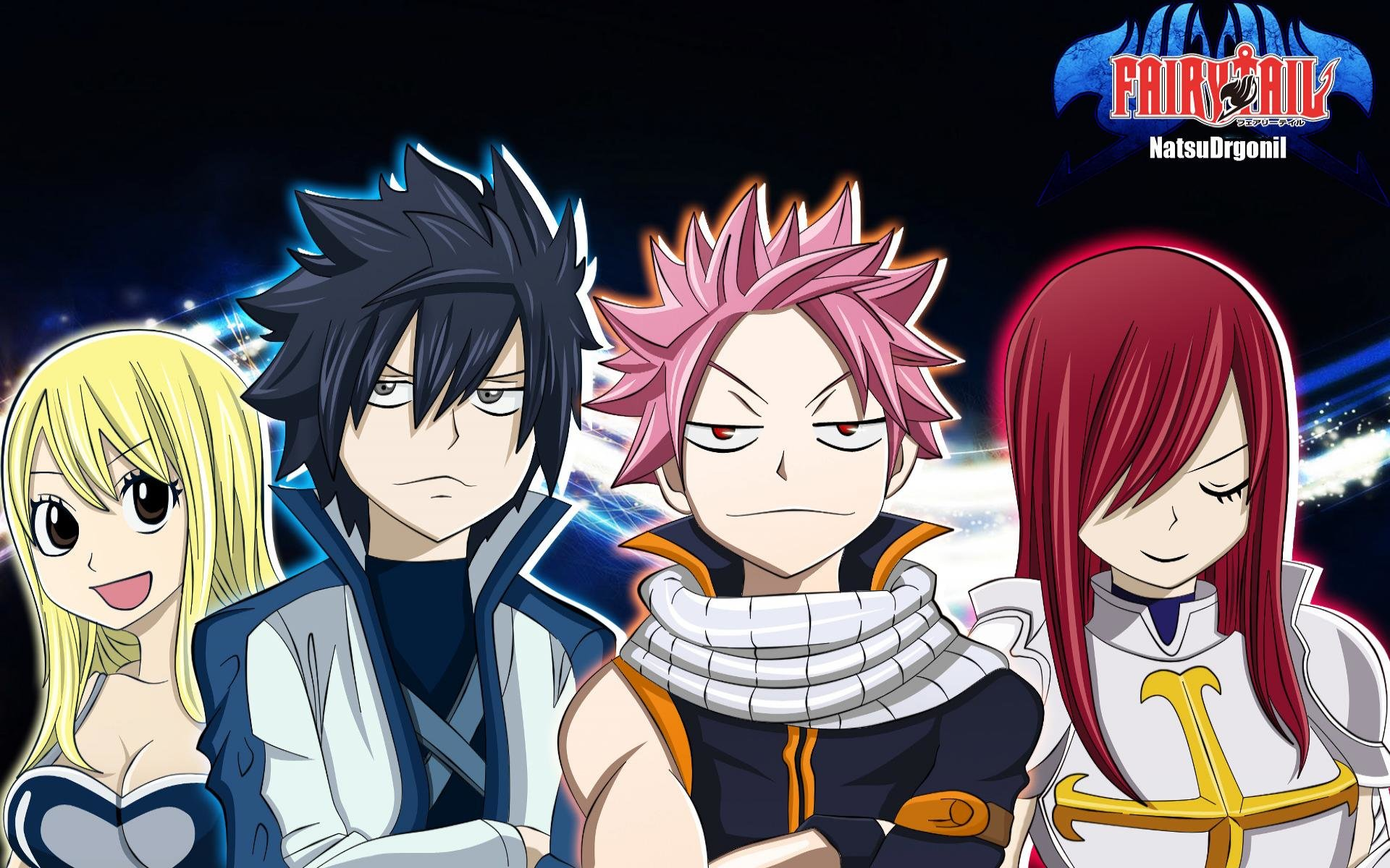 Free download Fairy Tail wallpaper ID:41416 hd 1920x1200 for PC
