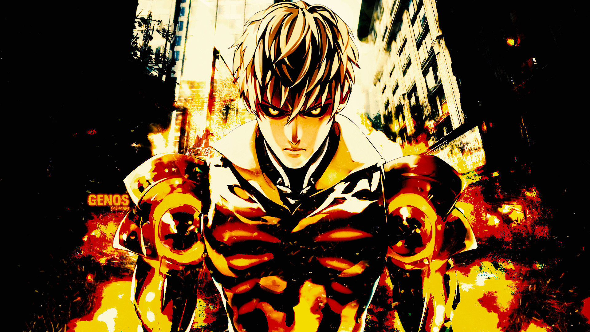 Best Genos (One-Punch Man) wallpaper ID:345502 for High Resolution hd 1920x1080 PC
