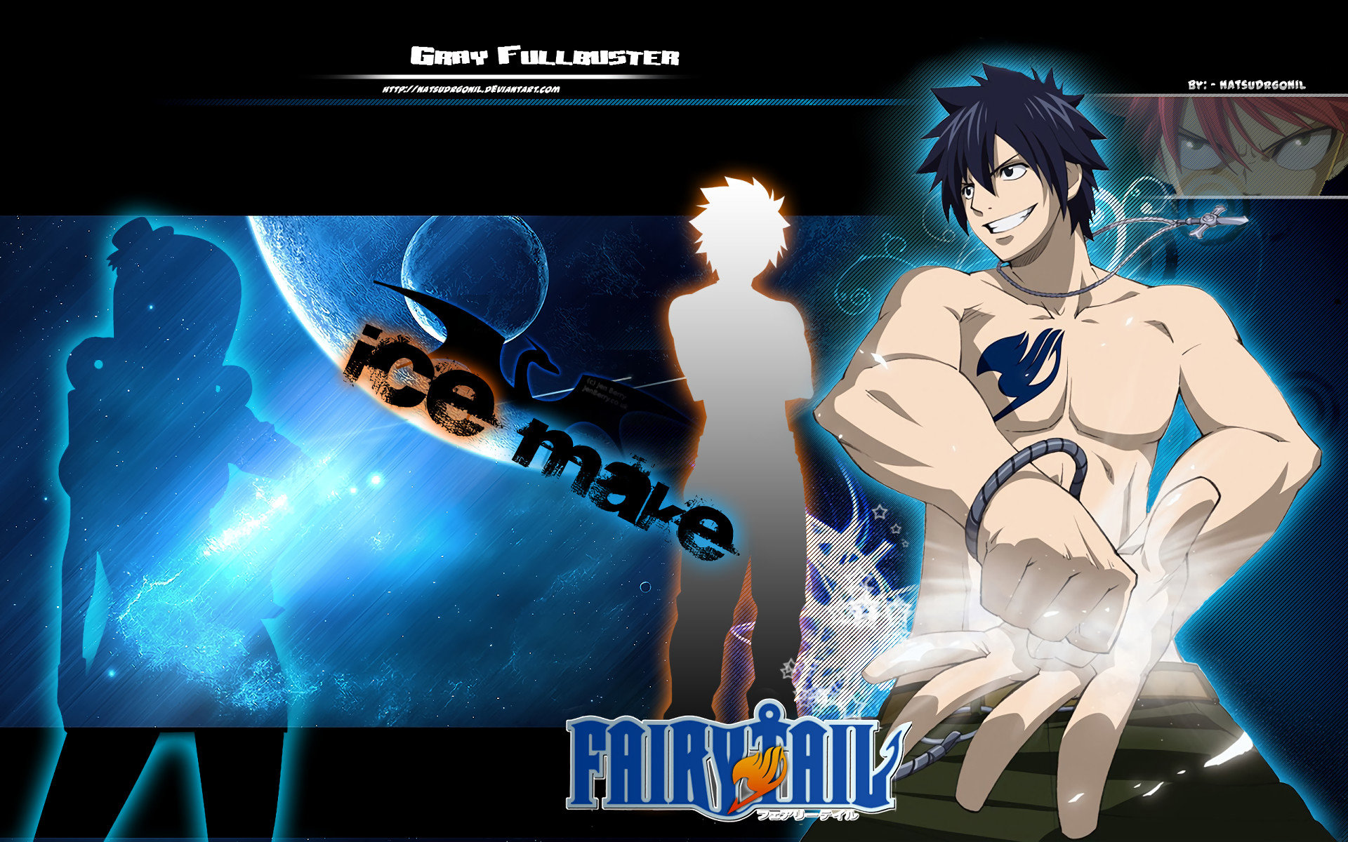 Download hd 1920x1200 Gray Fullbuster PC wallpaper ID:41418 for free