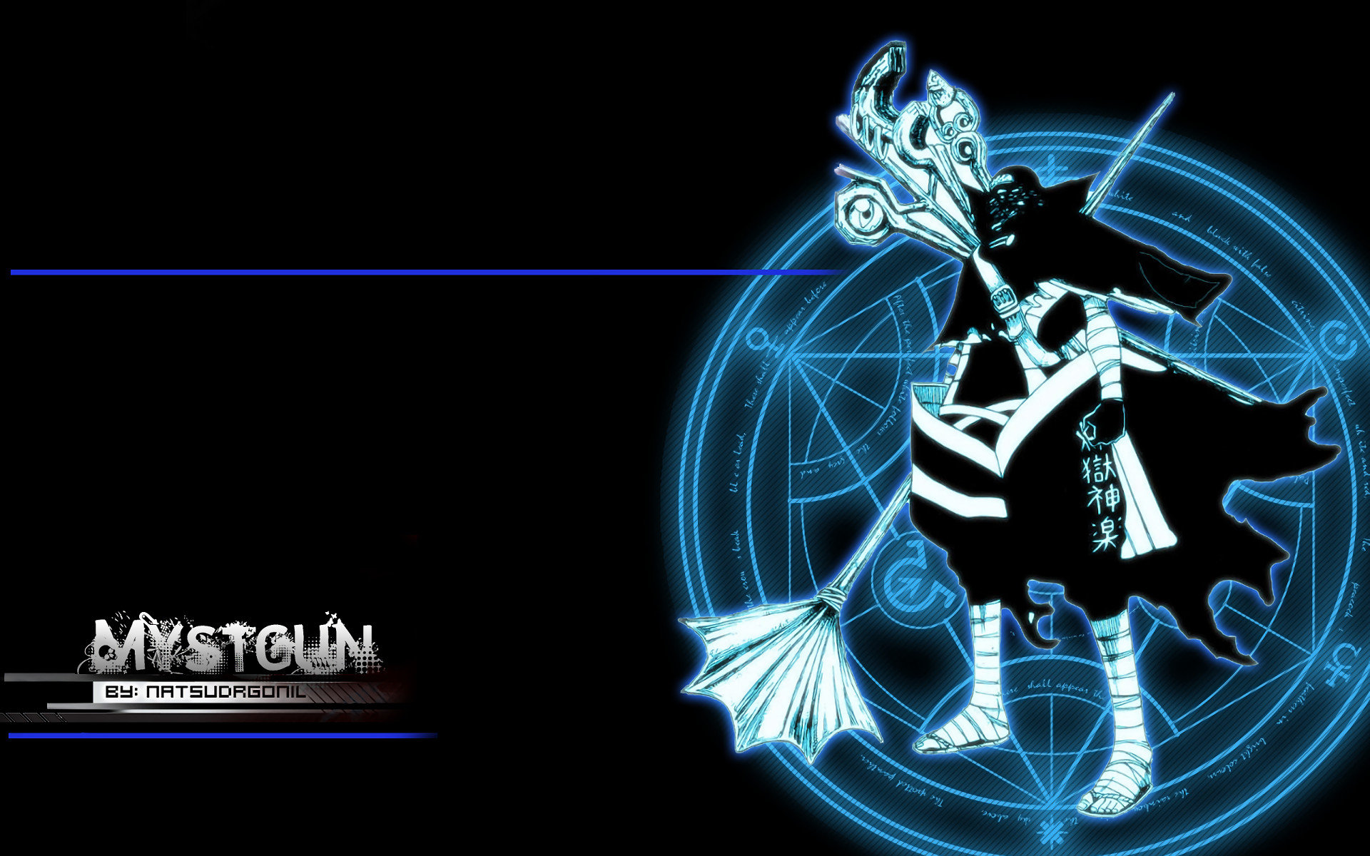 High resolution Mystogan (Fairy Tail) hd 1920x1200 background ID:41180 for computer