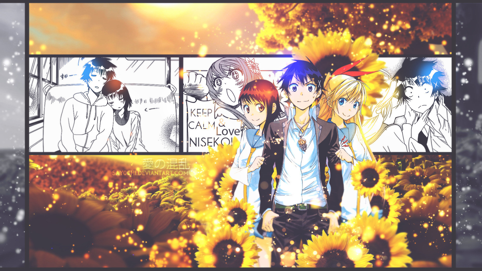 Download full hd 1080p Nisekoi PC background ID:323347 for free