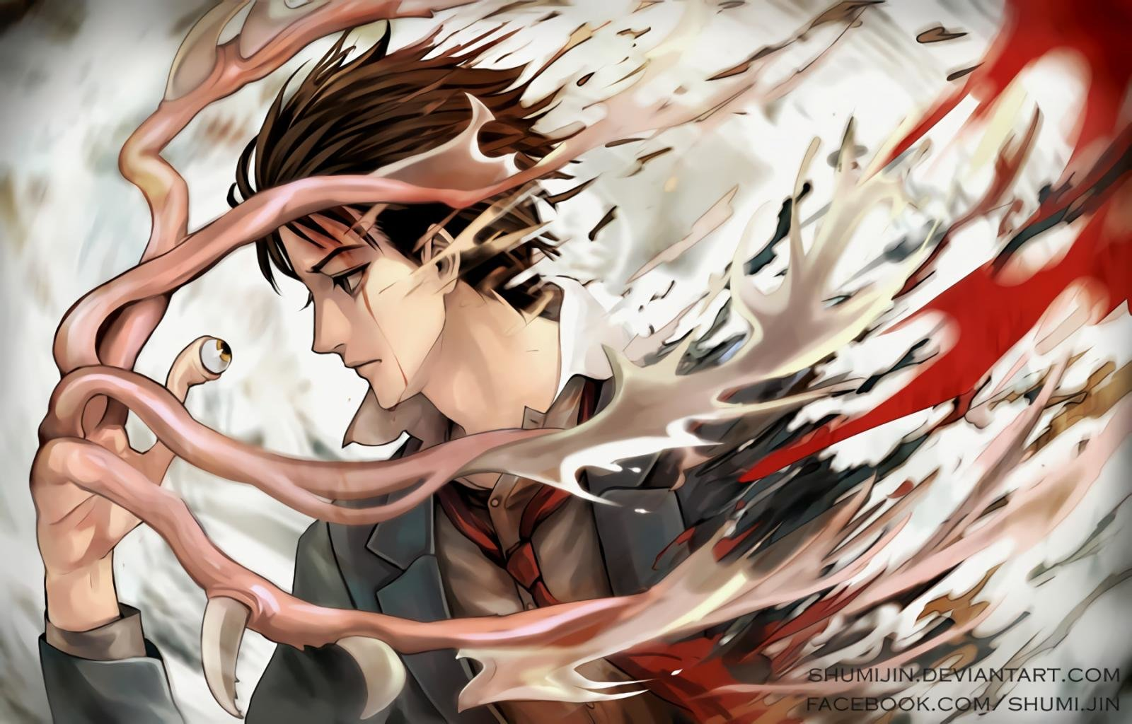 Awesome Parasyte -the Maxim- free background ID:349383 for hd 1600x1024 computer