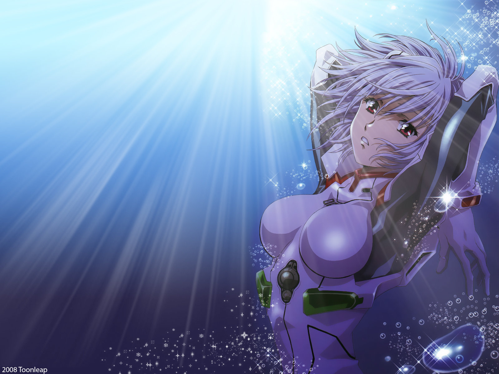 High resolution Rei Ayanami hd 1600x1200 wallpaper ID:214903 for PC