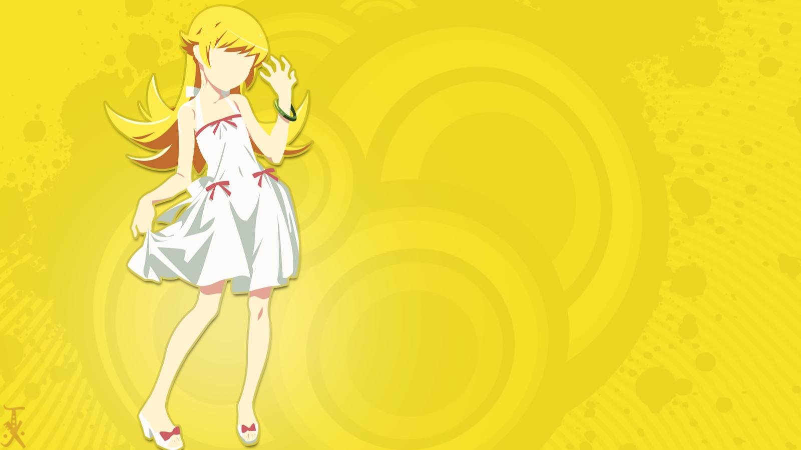 Best Shinobu Oshino wallpaper ID:108820 for High Resolution hd 1600x900 desktop