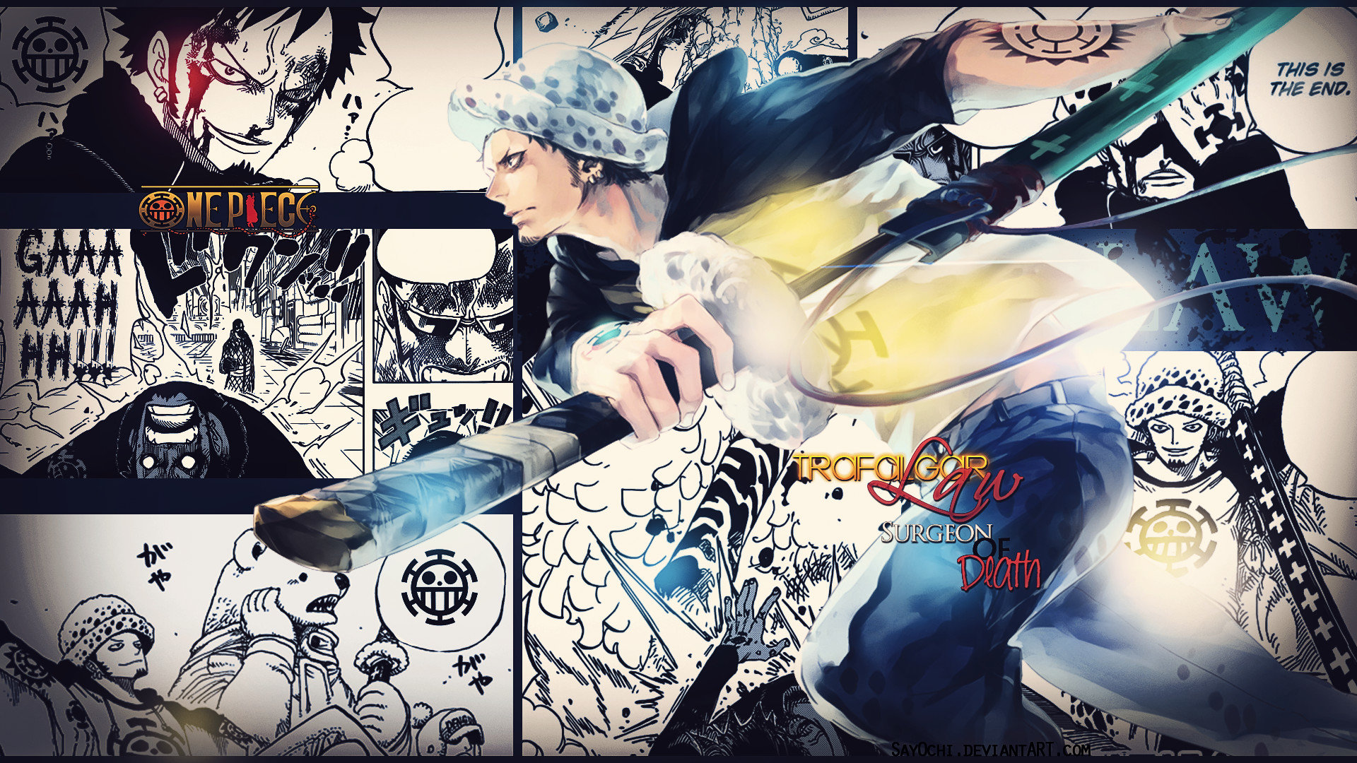 Awesome Trafalgar Law free wallpaper ID:314376 for hd 1080p desktop