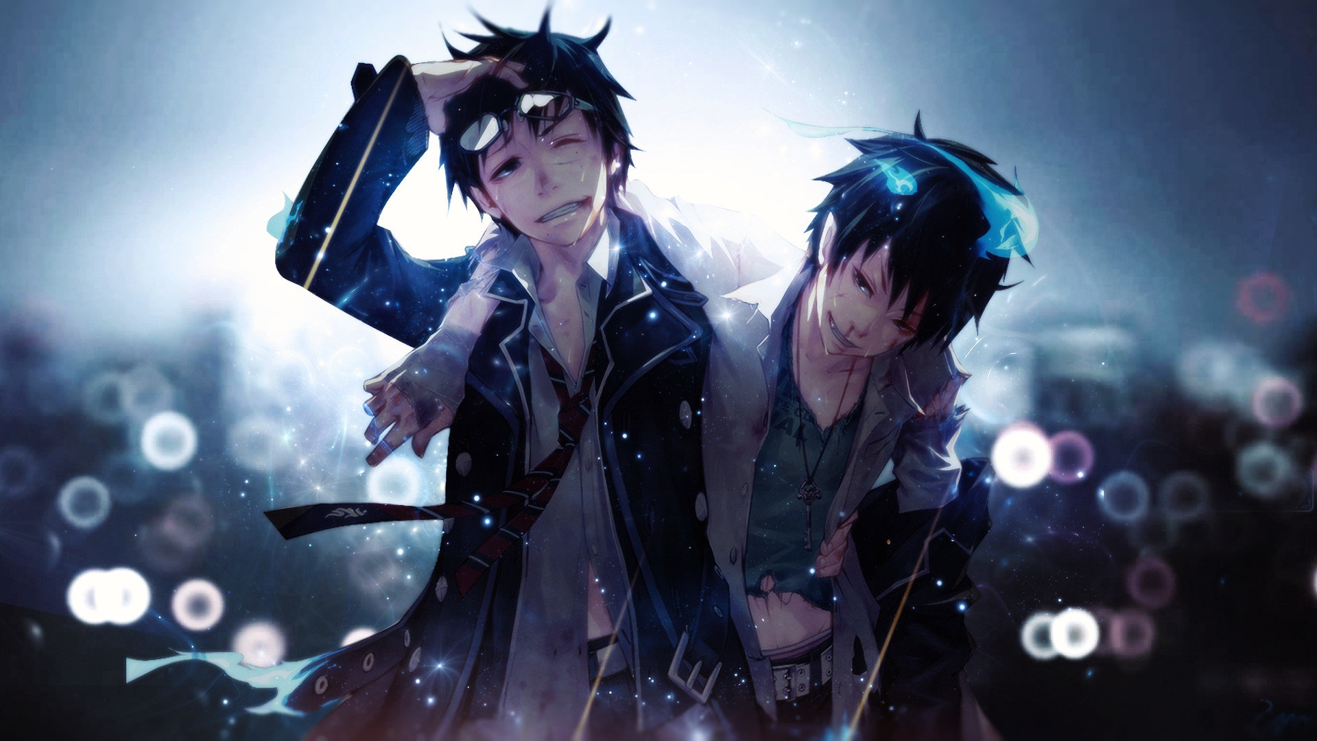 Free Blue Exorcist (Ao No) high quality background ID:242179 for 1080p PC