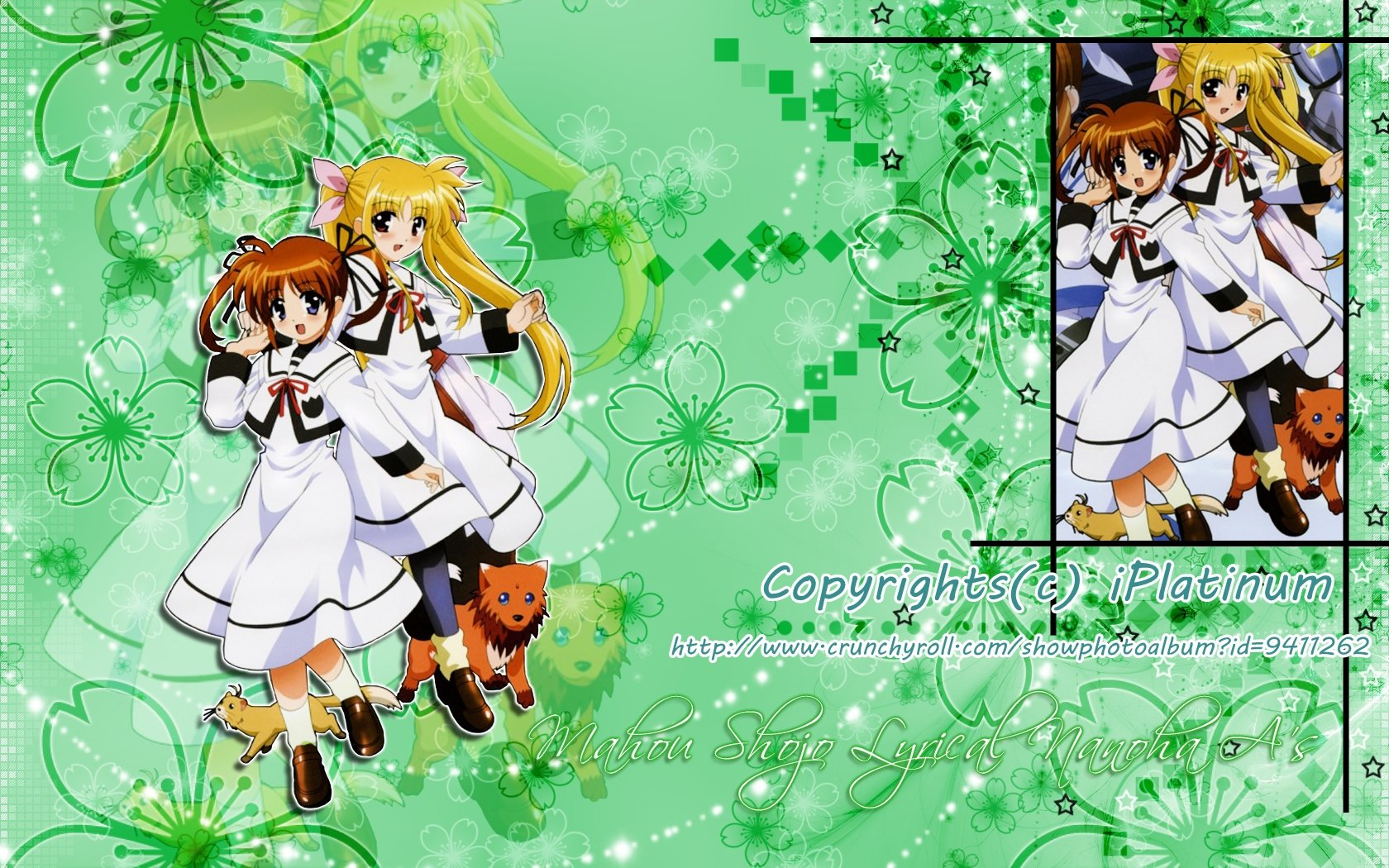 Free download Magical Girl Lyrical Nanoha background ID:297498 hd 1680x1050 for desktop