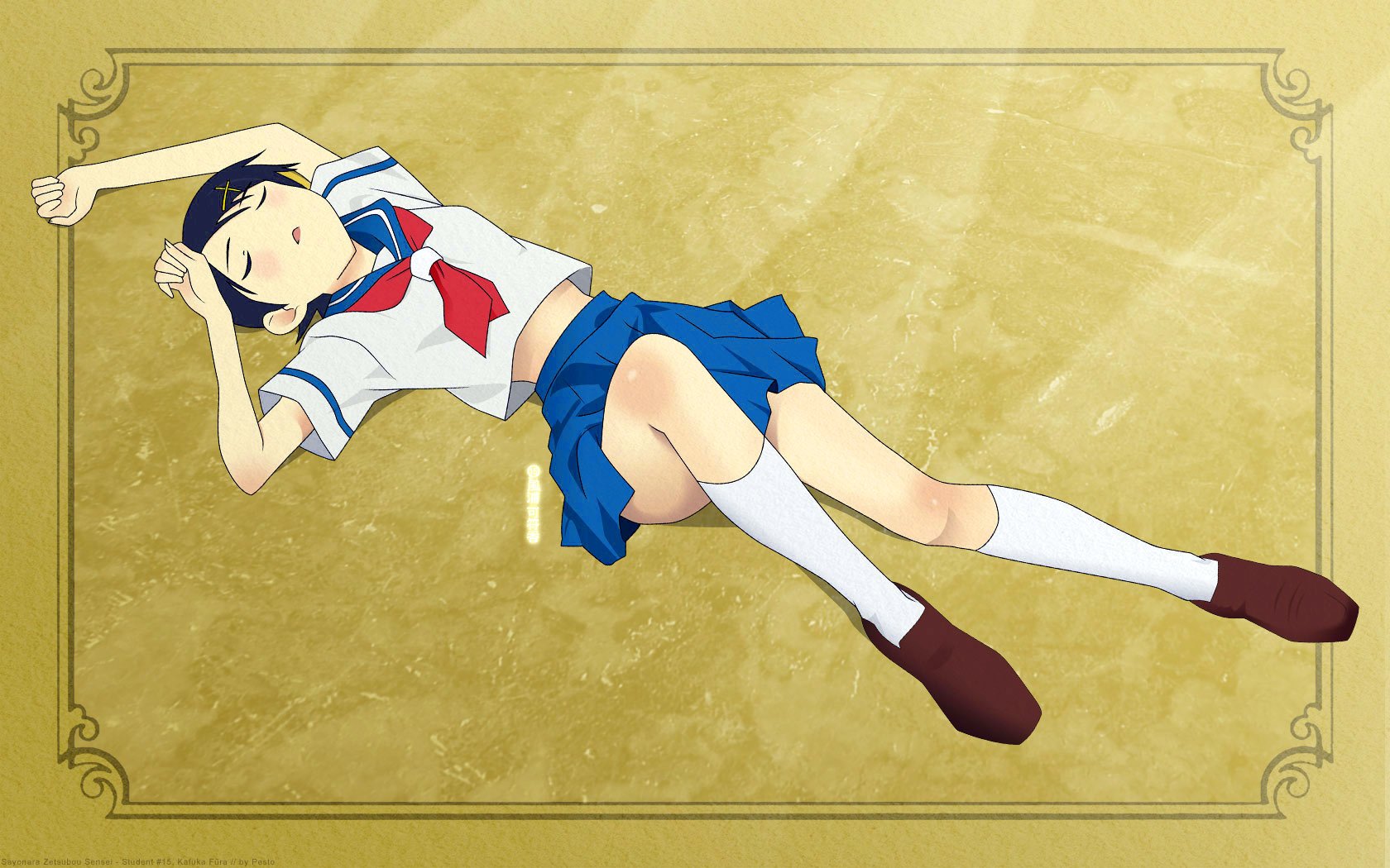 High resolution Sayonara, Zetsubou-Sensei hd 1680x1050 background ID:243704 for computer