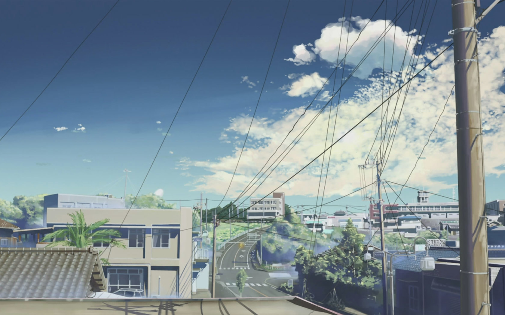 Scenery Anime Wallpapers Hd For Desktop Backgrounds