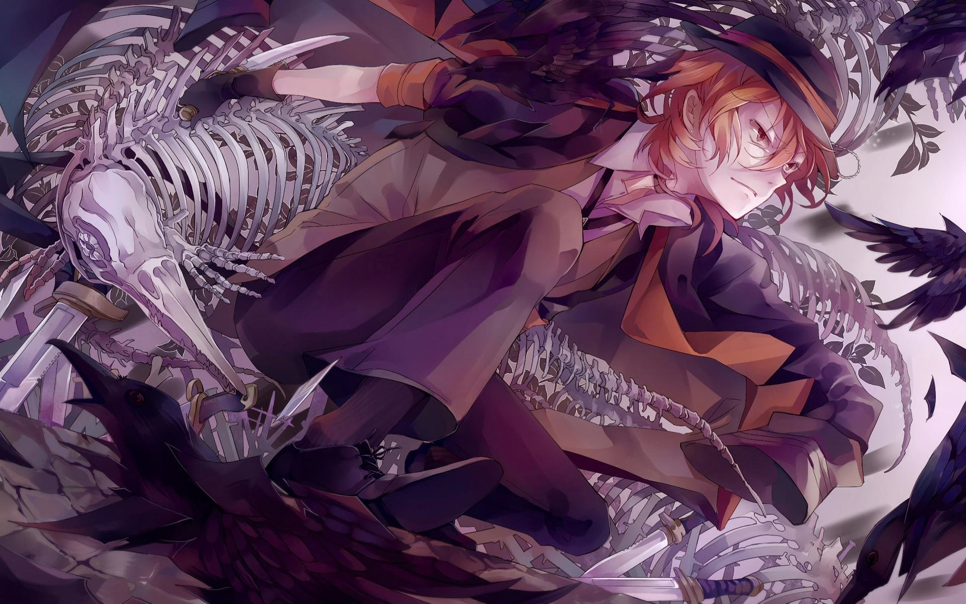 Download hd 1920x1200 Bungou Stray Dogs (BSD) PC background ID:151543 for free