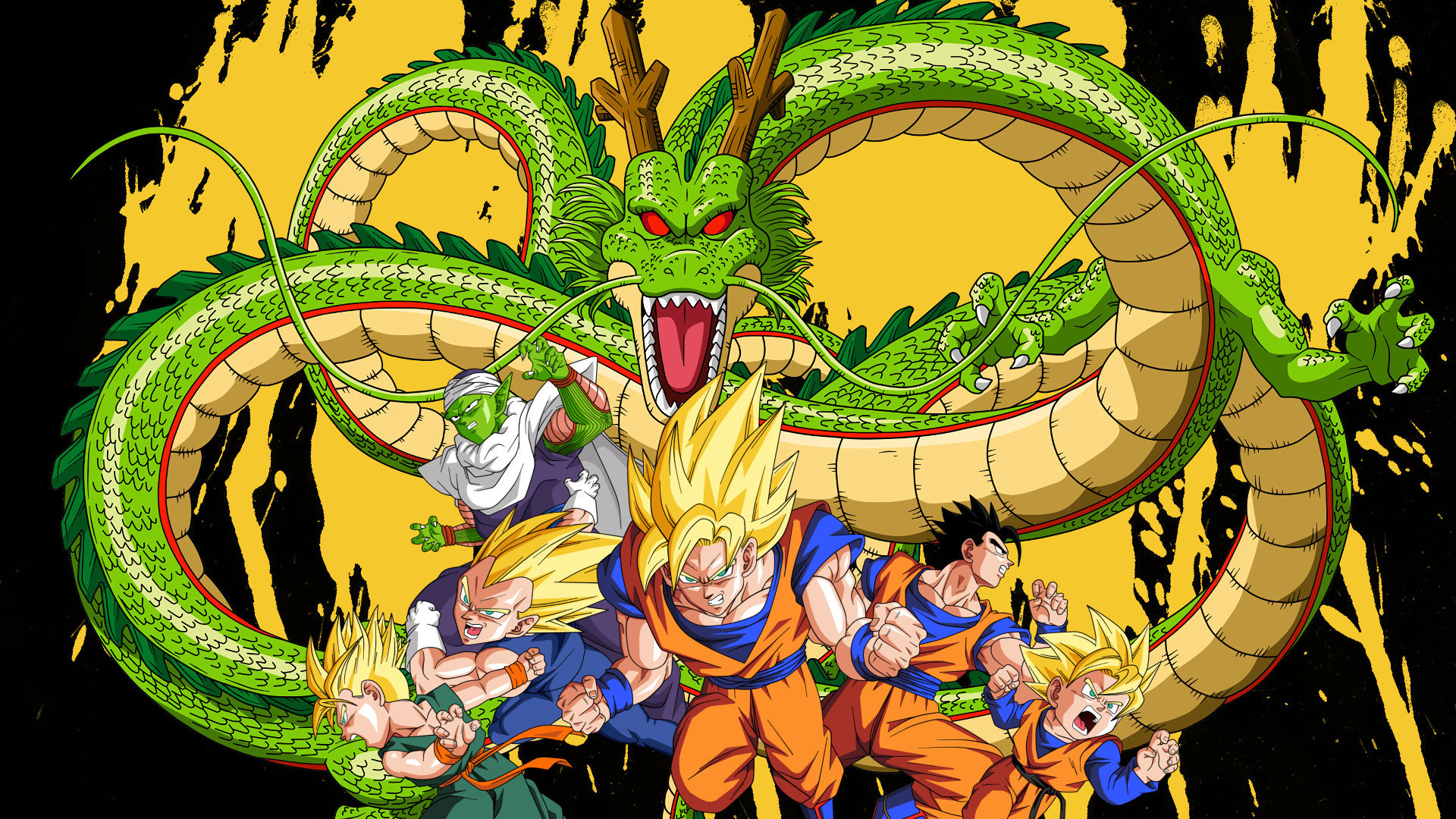 Download hd 1920x1080 Dragon Ball Z (DBZ) computer wallpaper ID:462218 for free