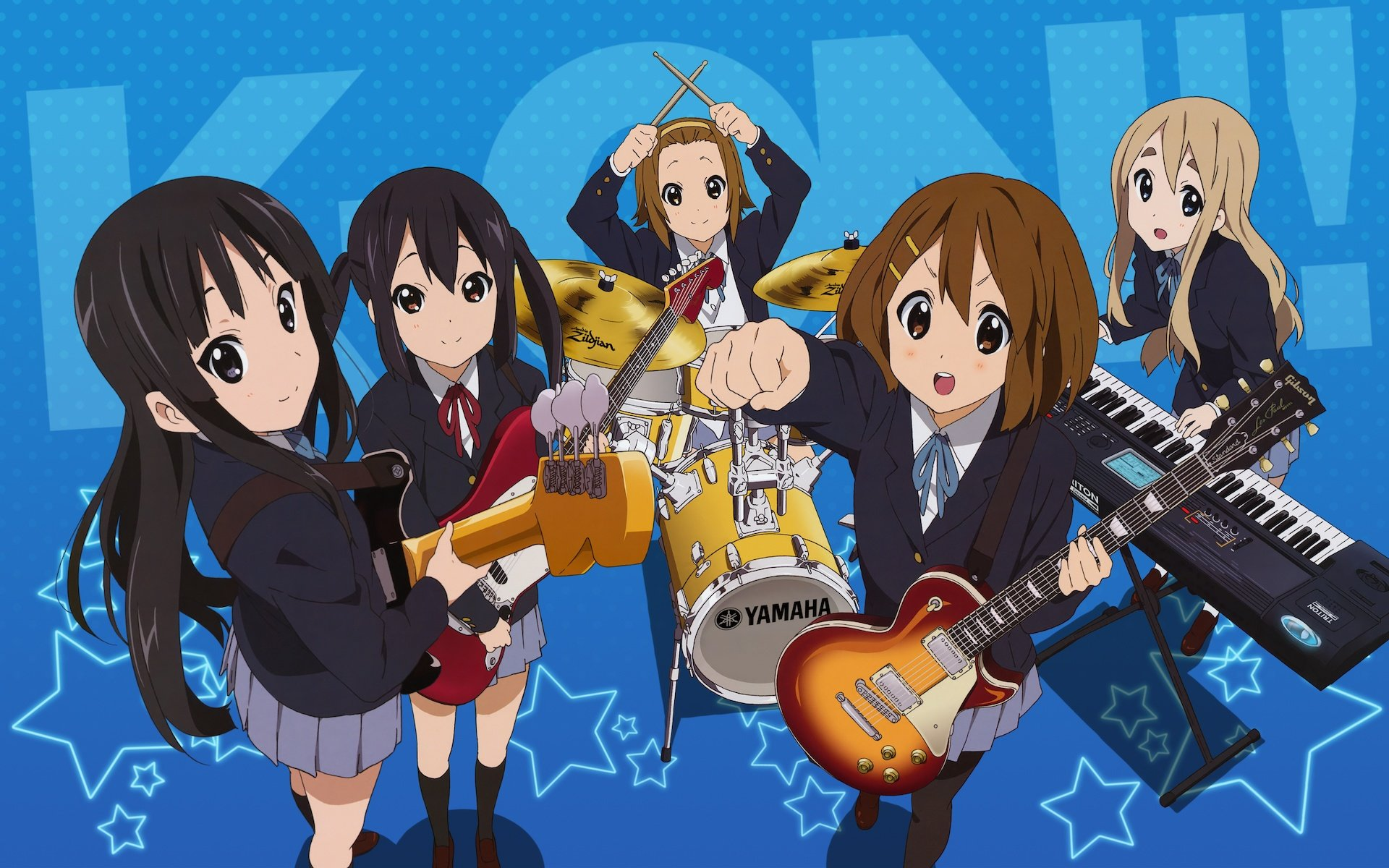 Free download K-ON! wallpaper ID:212837 hd 1920x1200 for desktop