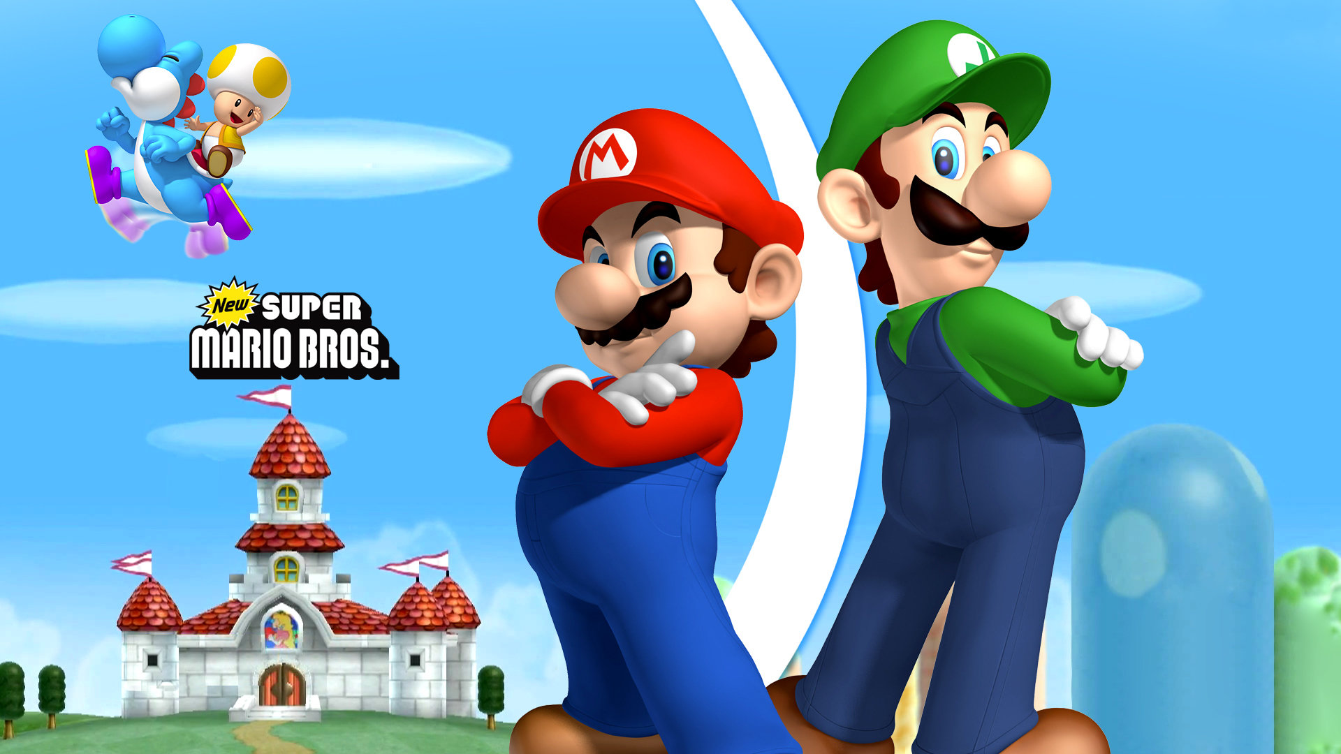 High Resolution New Super Mario Bros Wii Full Hd 1080p Background