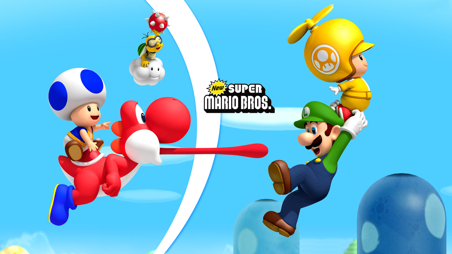 new super mario bros wii wallpapers 1920x1080 full hd