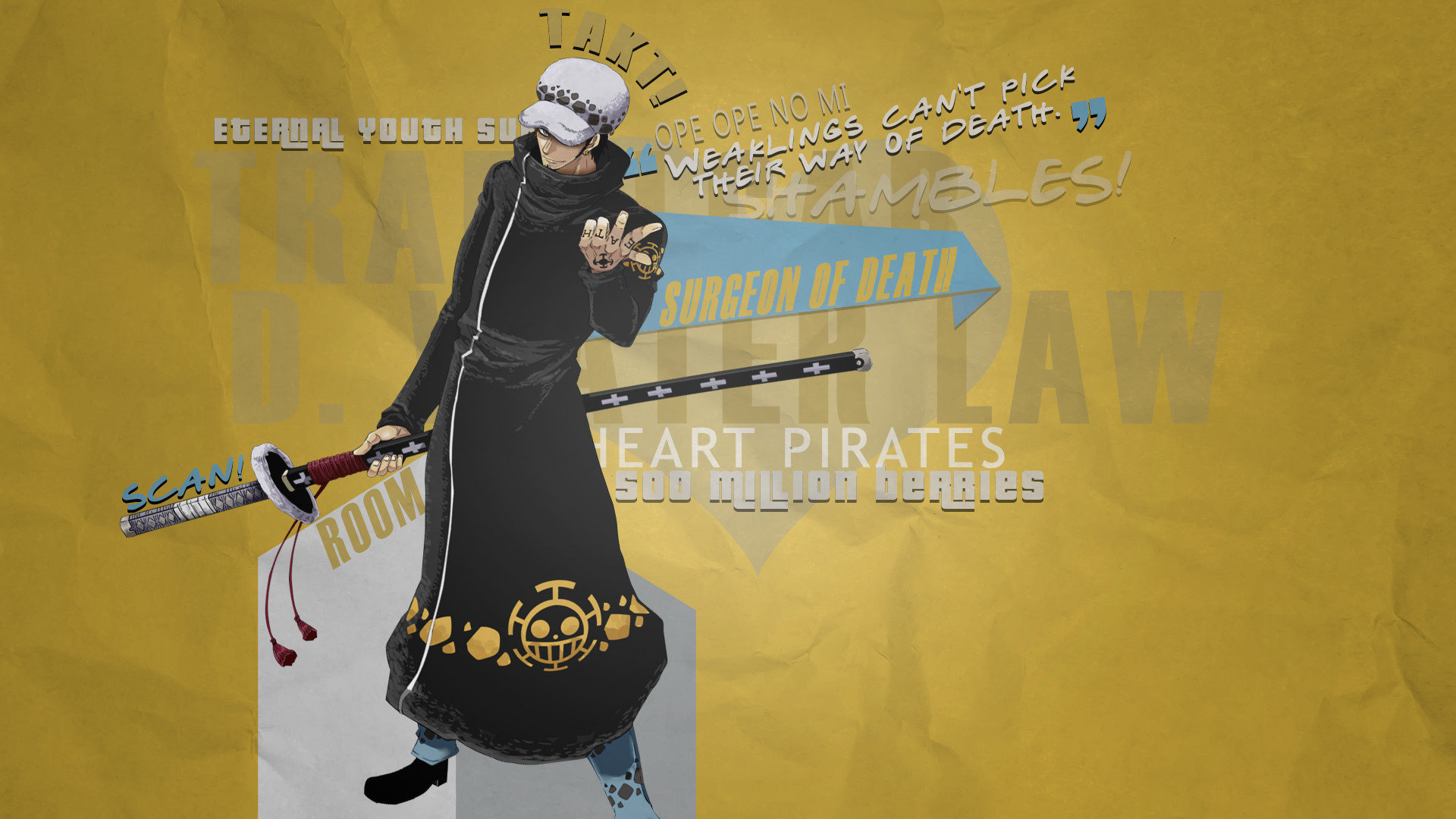 Best Trafalgar Law wallpaper ID:314662 for High Resolution hd 1920x1080 PC