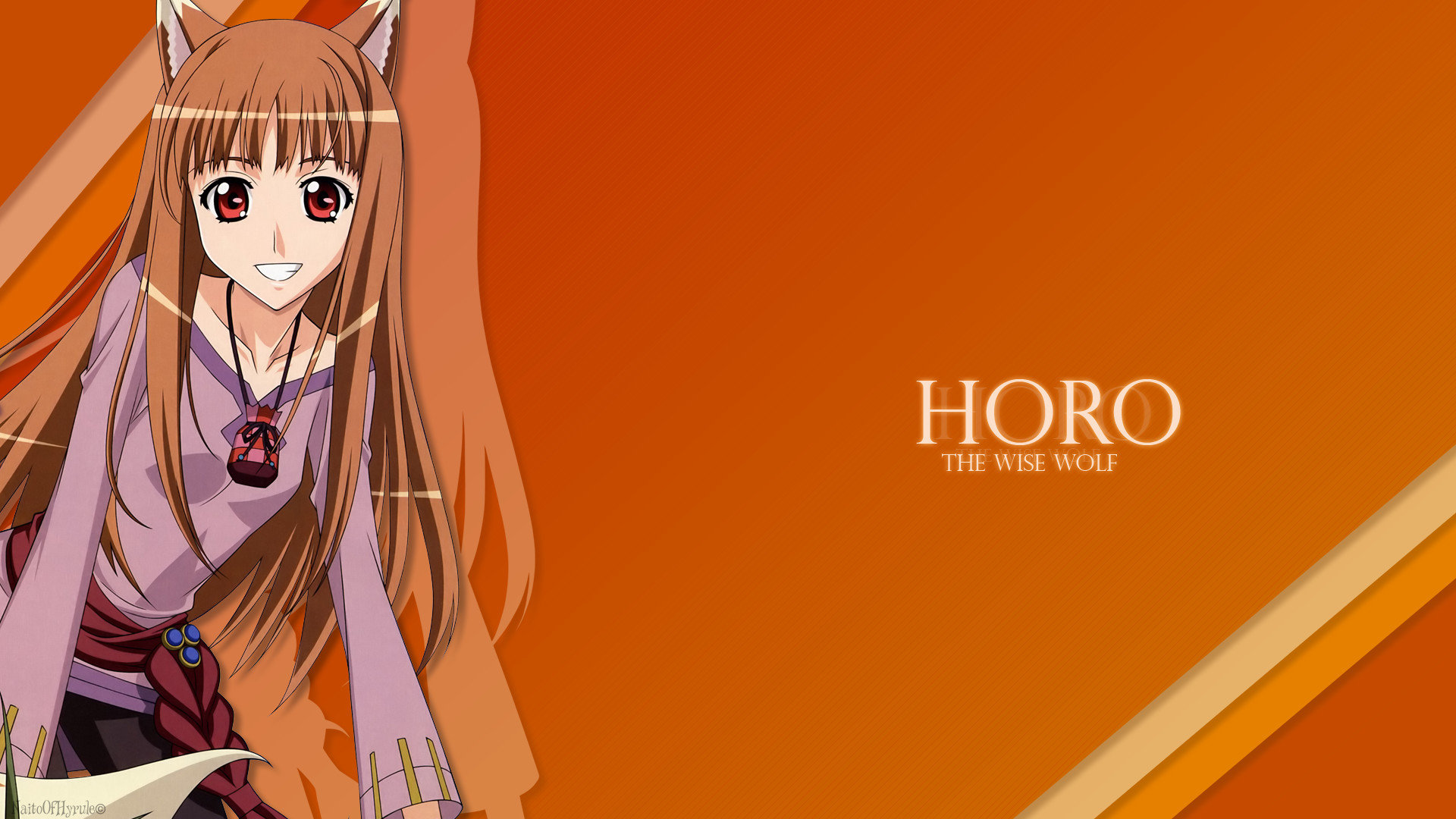 Download hd 1920x1080 Holo (Spice & Wolf) computer wallpaper ID:399690 for free