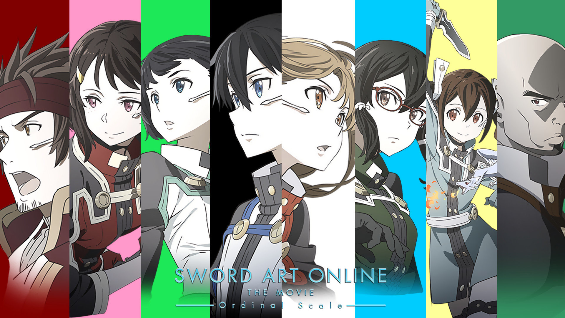 Awesome Sword Art Online Movie: Ordinal Scale free background ID:243186 for hd 1920x1080 desktop
