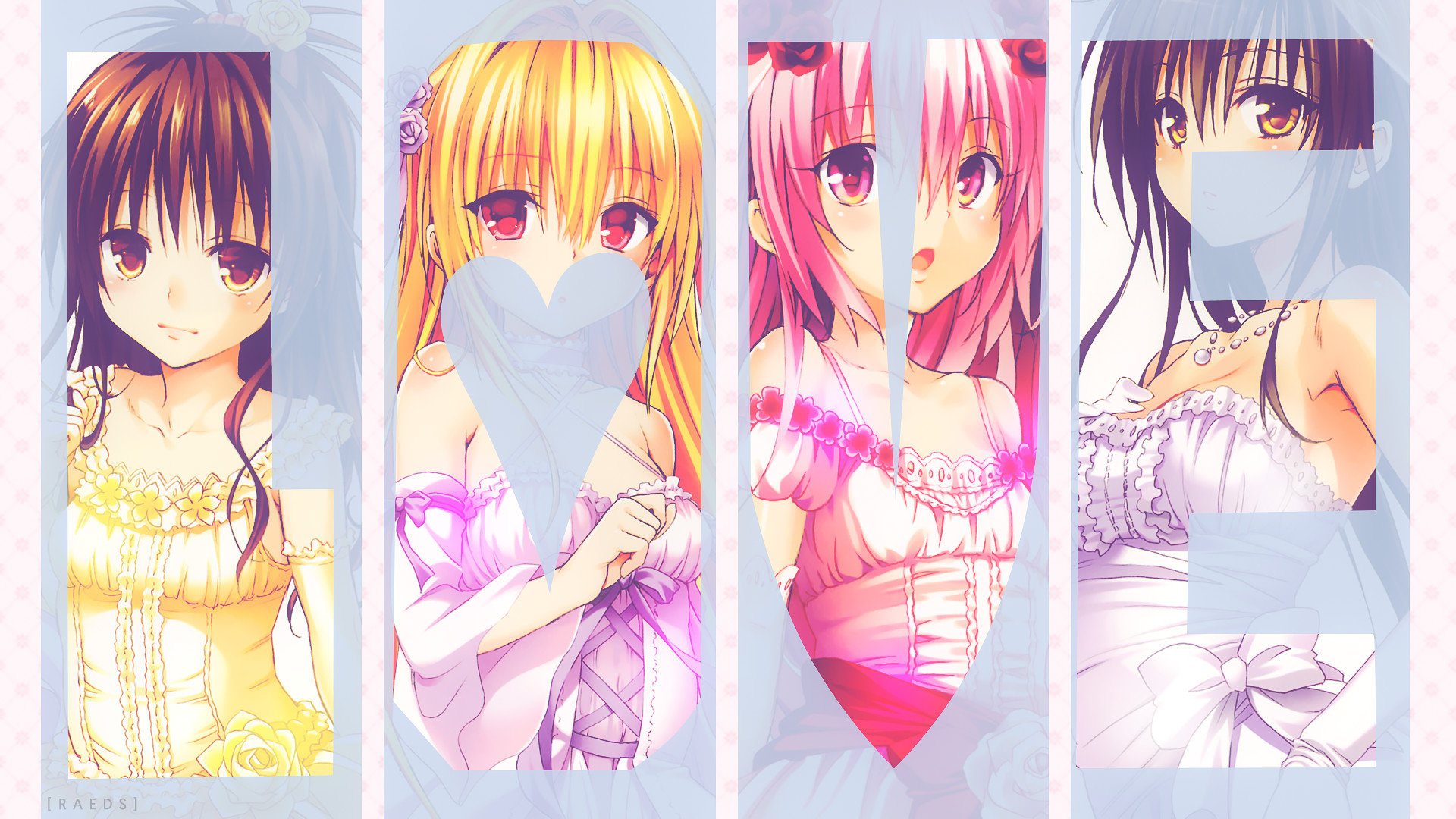 Free download To Love-Ru: Darkness background ID:360423 full hd for desktop