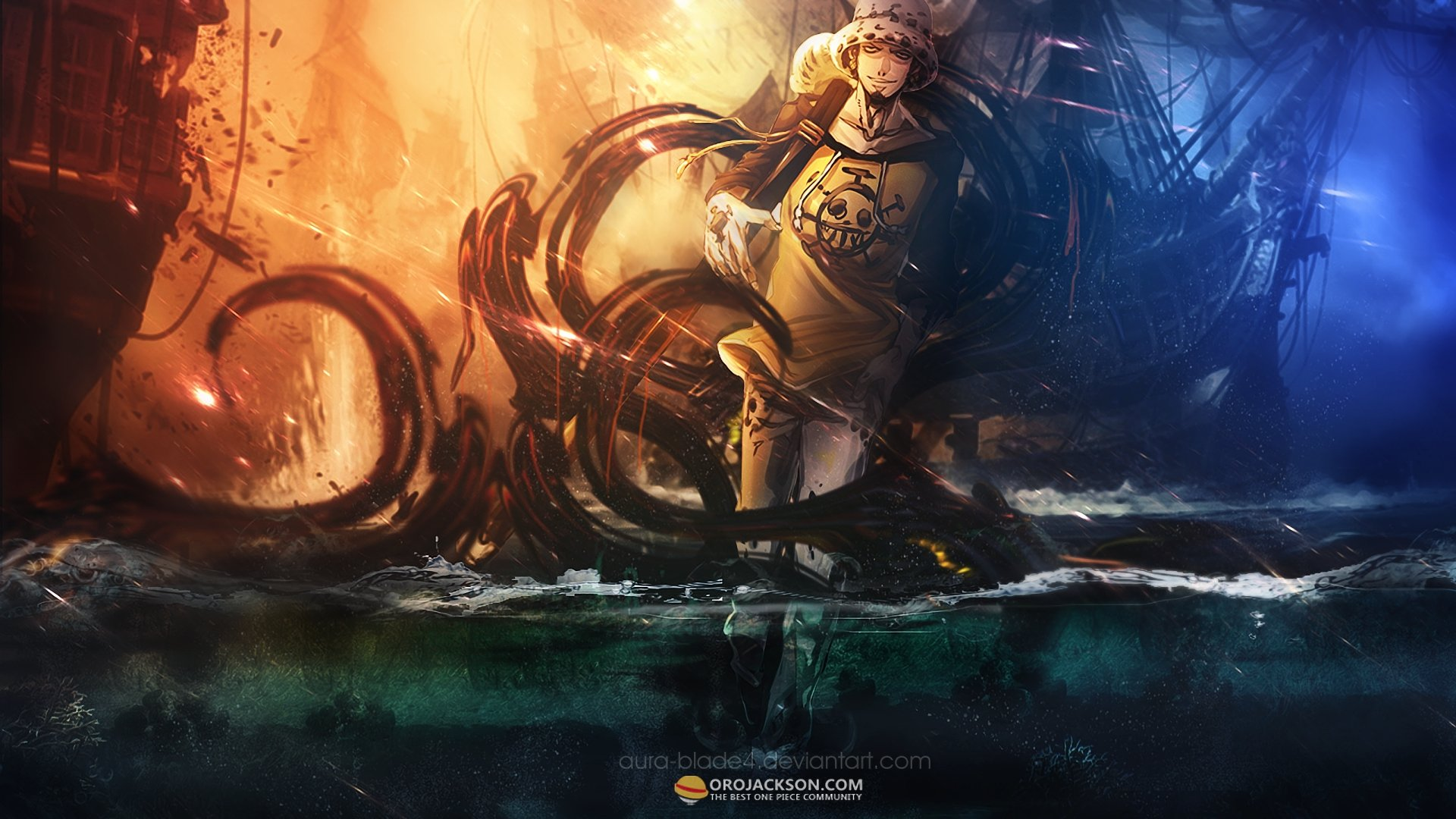 Free download Trafalgar Law background ID:314323 full hd 1080p for desktop
